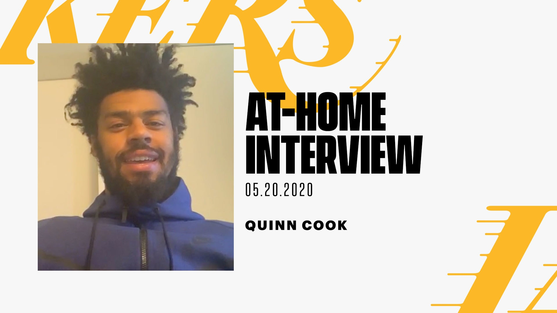 At-Home Interview: Quinn Cook (5/20/20)