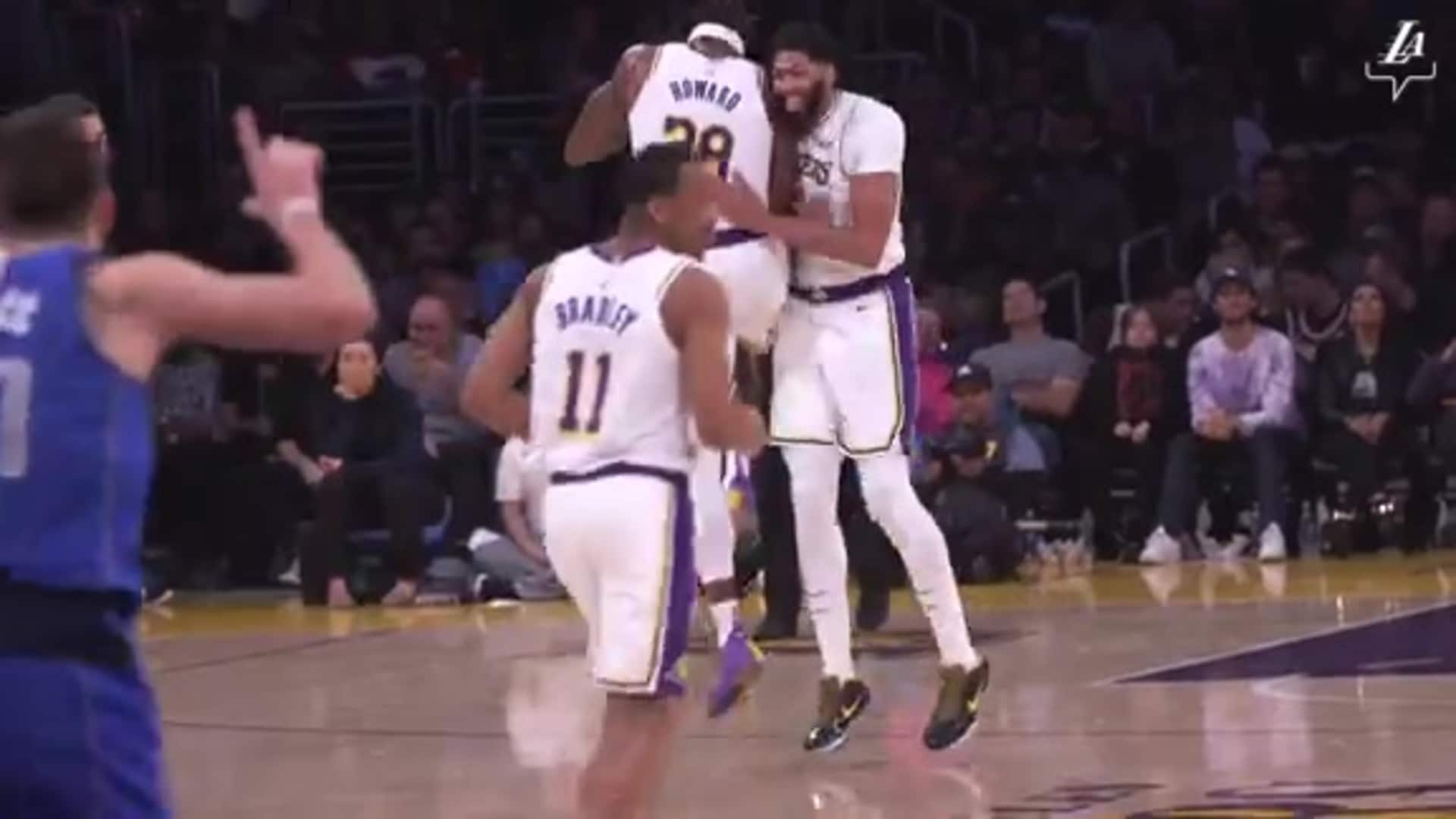 Lakers Chemistry & Best Moments of the 19/20 Season