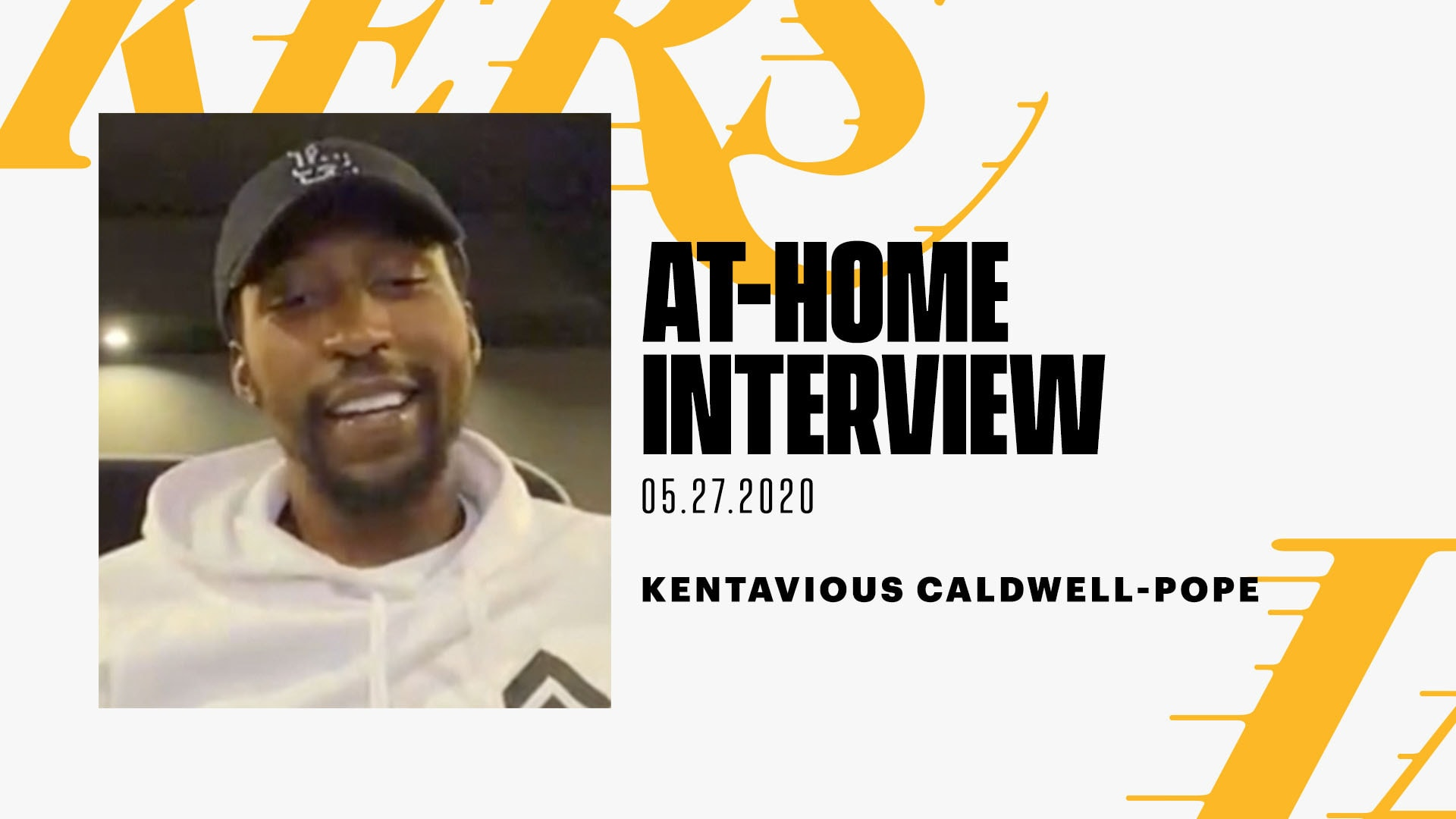 At-Home Interview: Kentavious Caldwell-Pope (5/27/20)