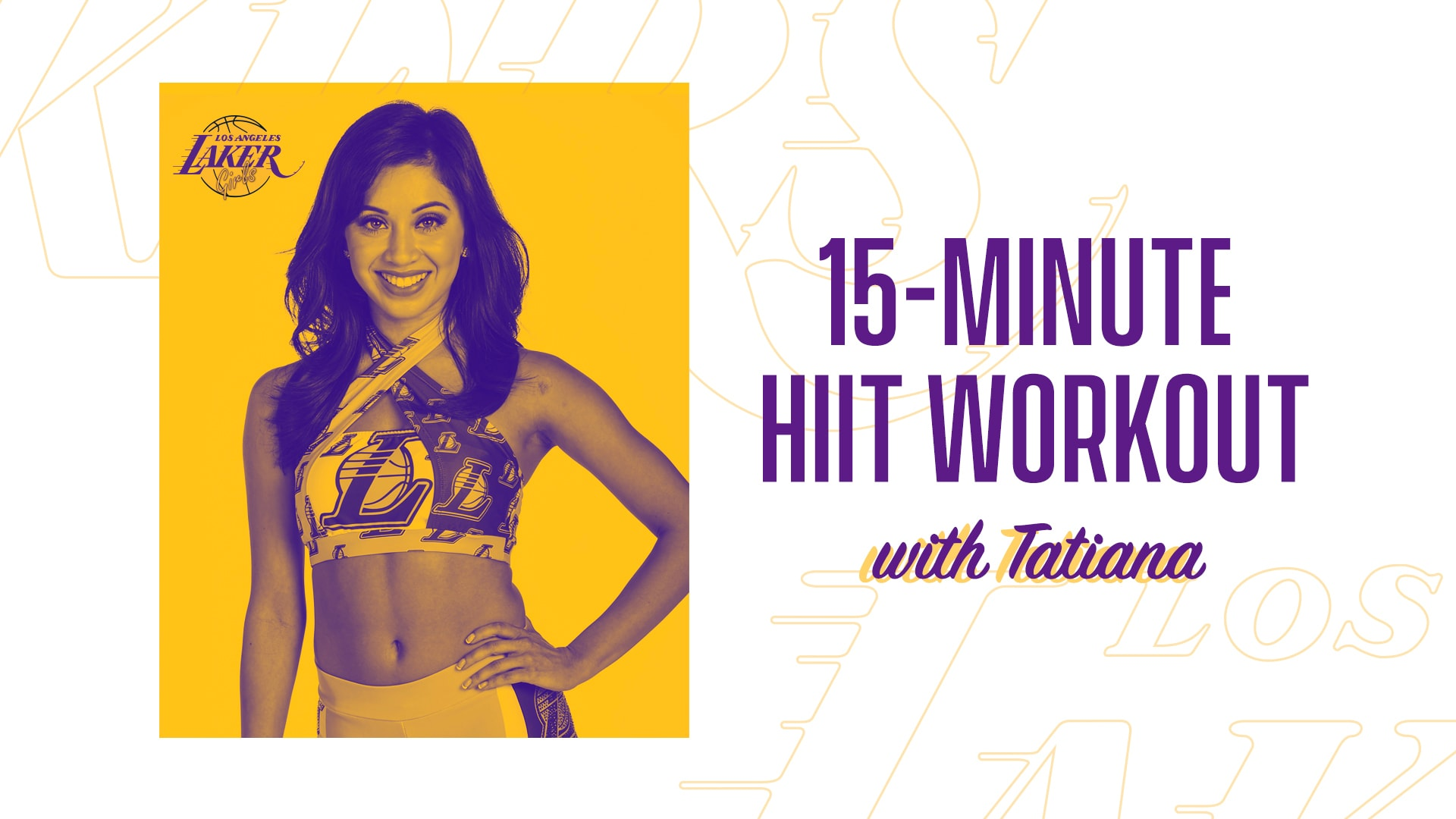 15-Minute HIIT Workout with Tatiana