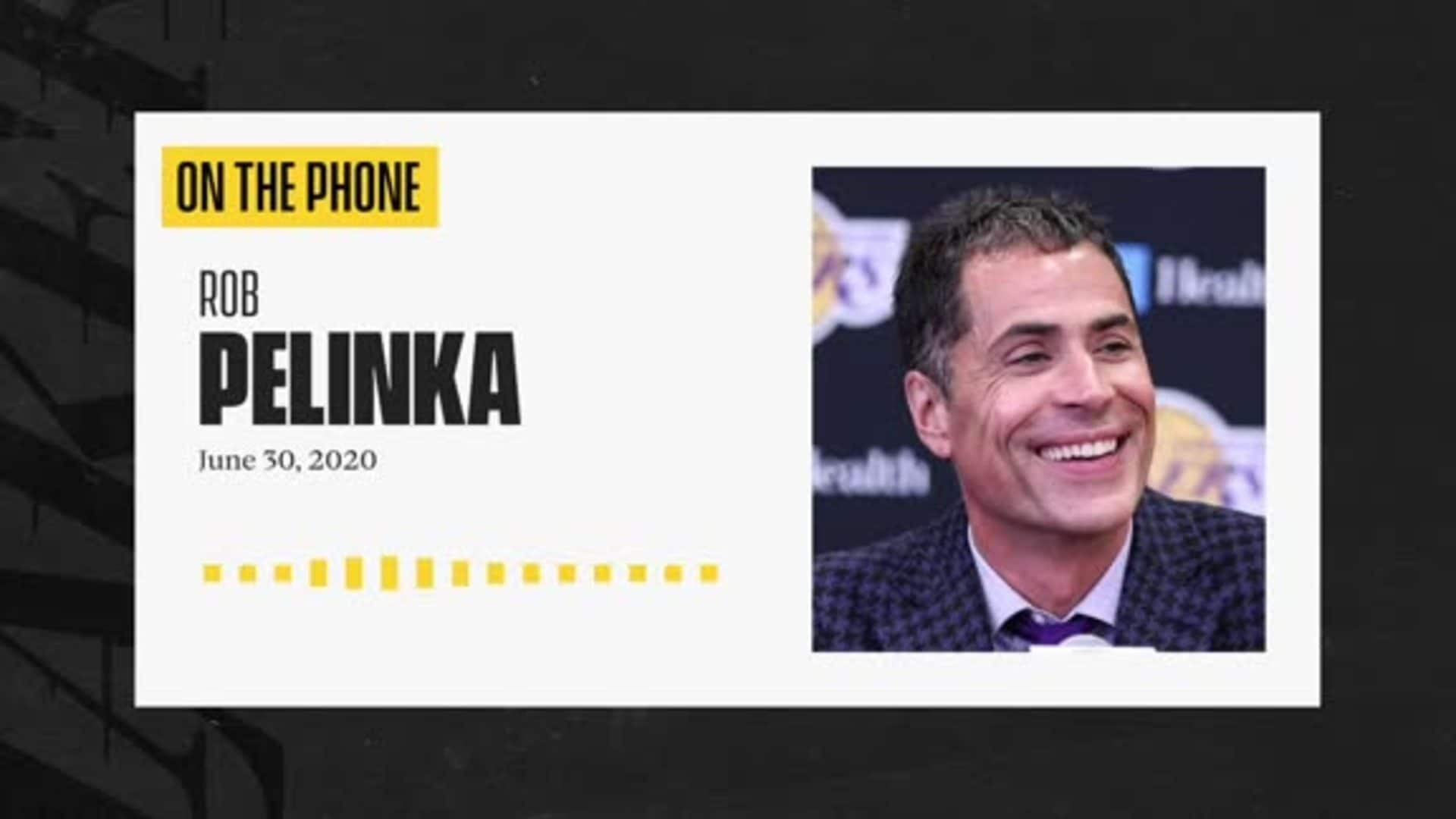 Press Conference: Rob Pelinka (6/30/20)