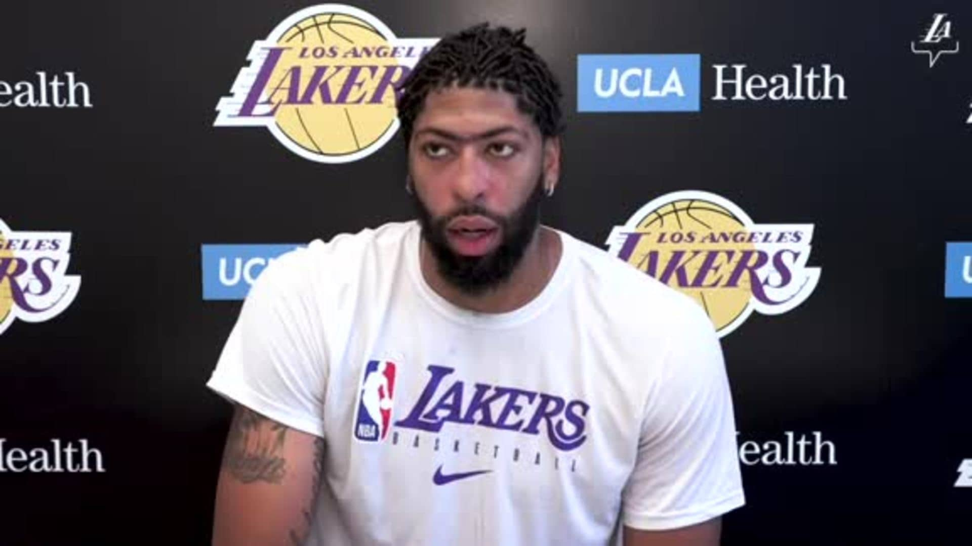 Post Workout Report: Anthony Davis (7/2/20)