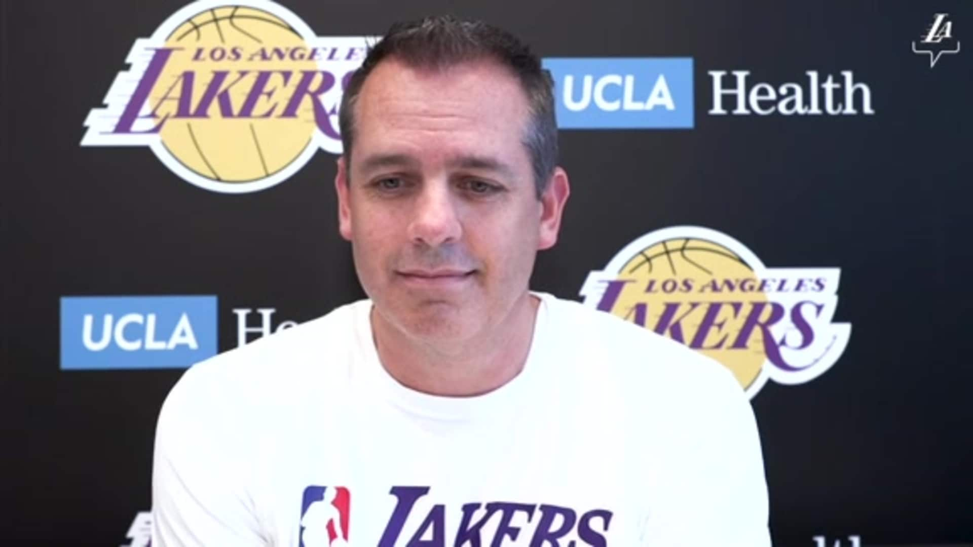Post Workout Report: Frank Vogel (7/2/20)