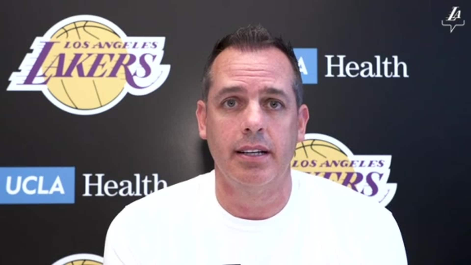 Post Workout Report: Frank Vogel (7/6/20)