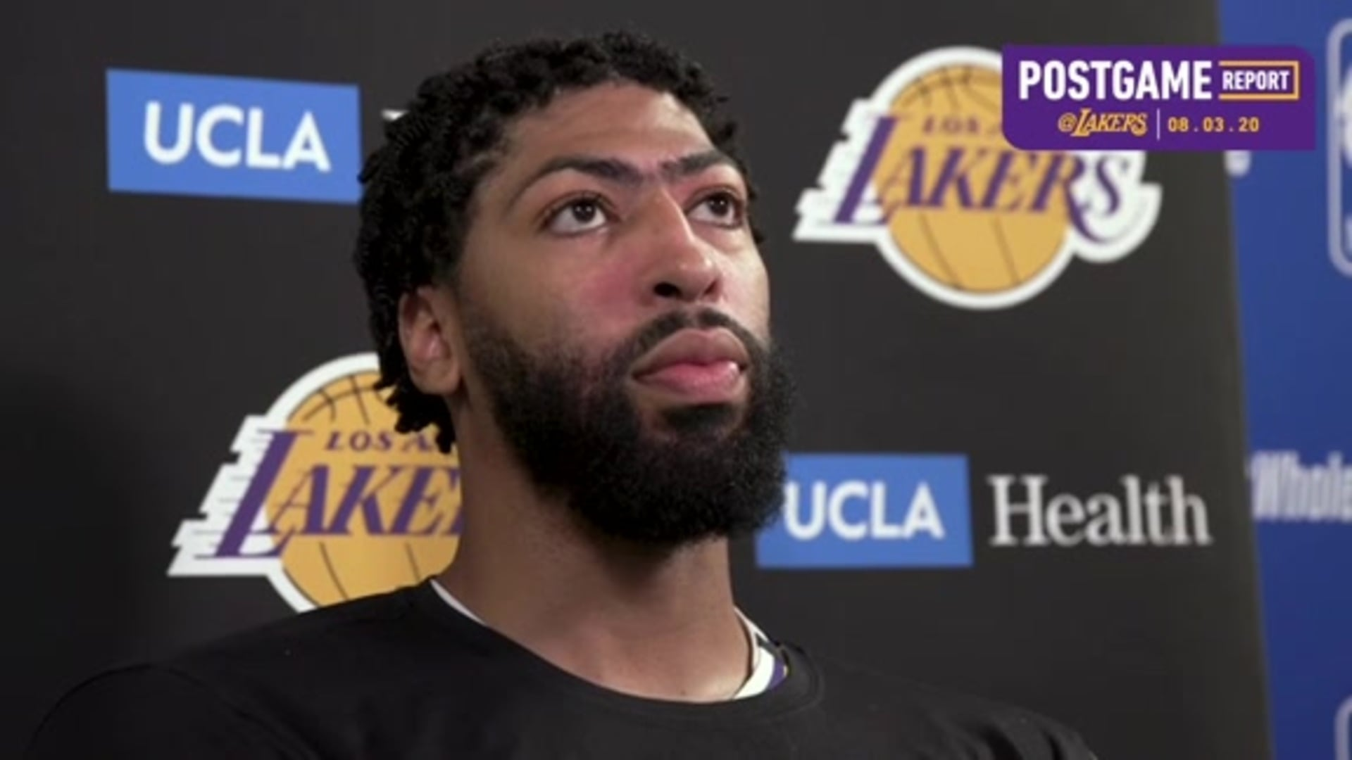 Lakers Postgame: Anthony Davis (8/3/20)