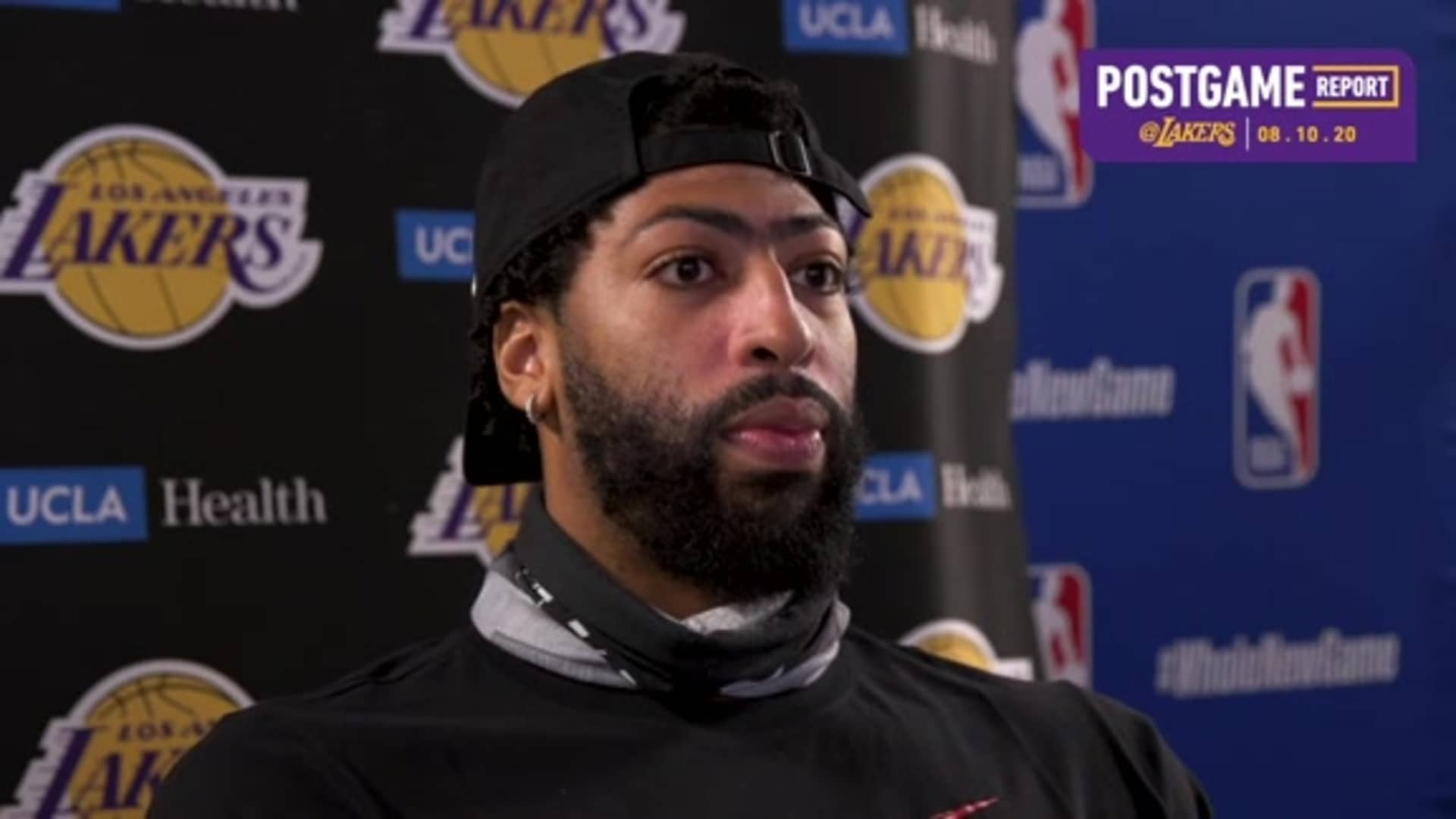 Lakers Postgame: Anthony Davis (8/10/20)