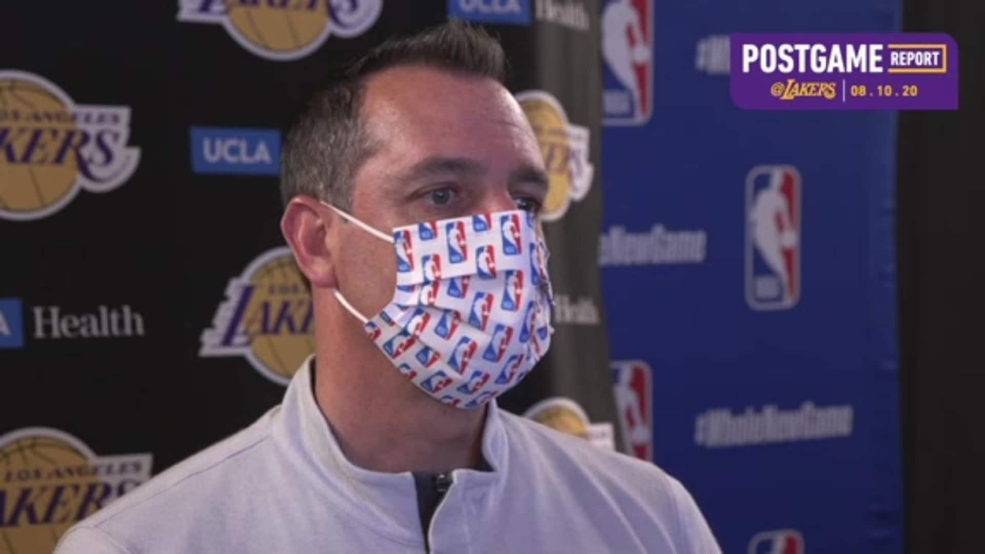 Lakers Postgame: Frank Vogel (8/10/20)