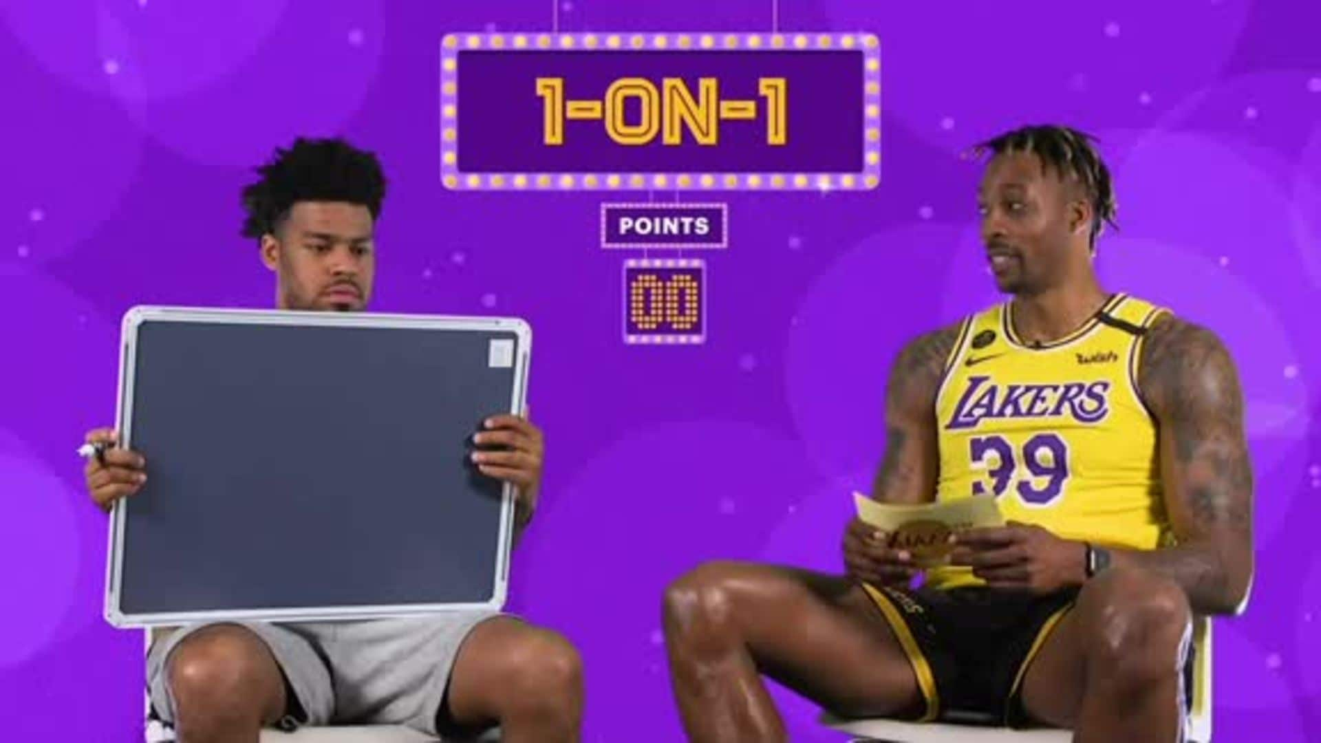 1-on-1: Quinn and Dwight