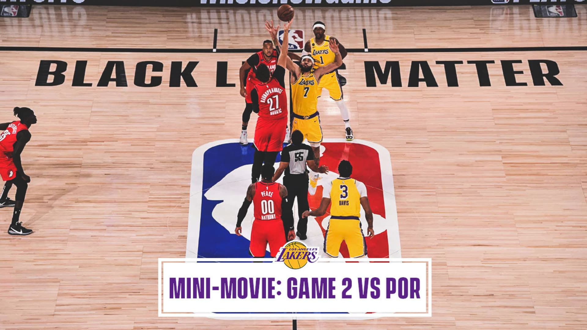 Mini-Movie: Lakers Even The Series With Portland