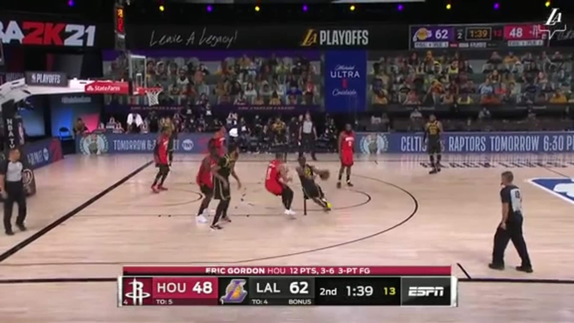 HIGHLIGHTS | Lakers vs Rockets (Game 2) | Los Angeles Lakers