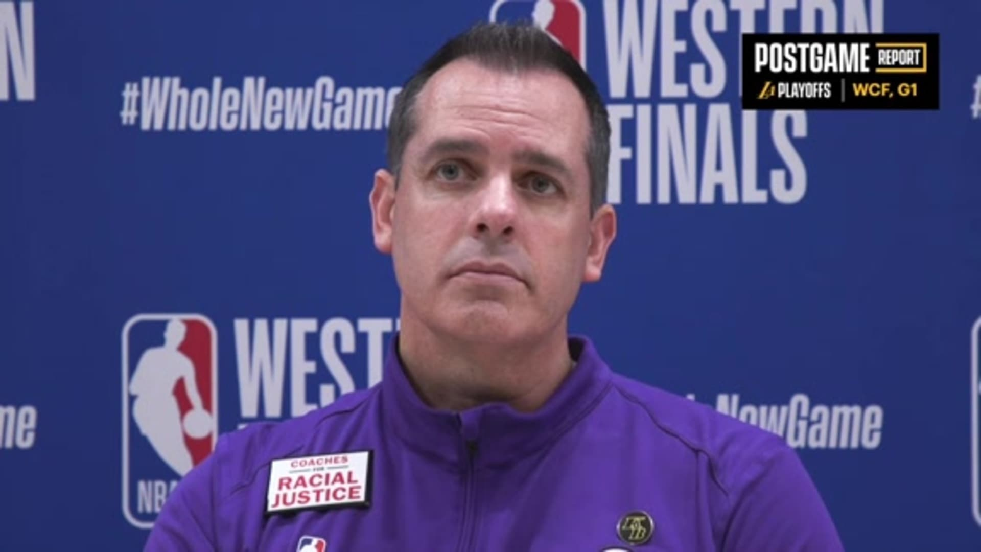 Lakers Postgame: Frank Vogel (9/18/20)