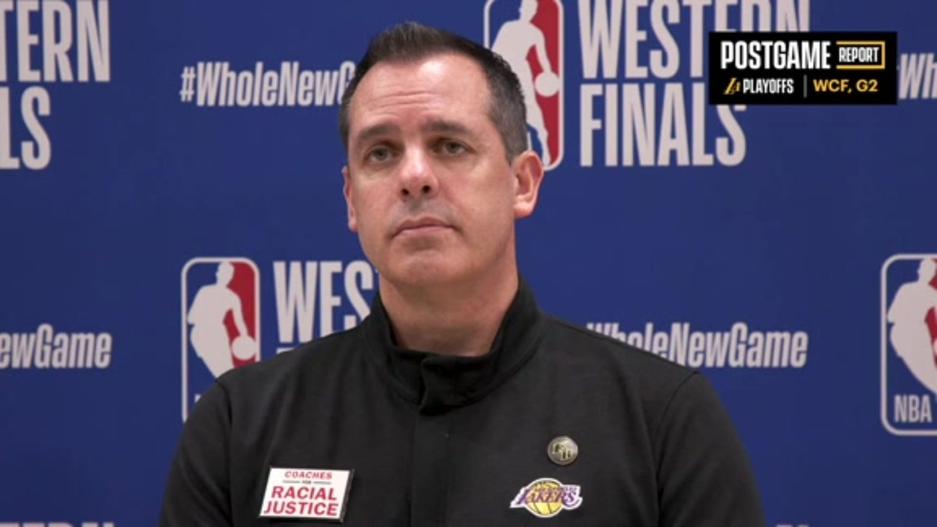 Lakers Postgame: Frank Vogel (9/20/20)
