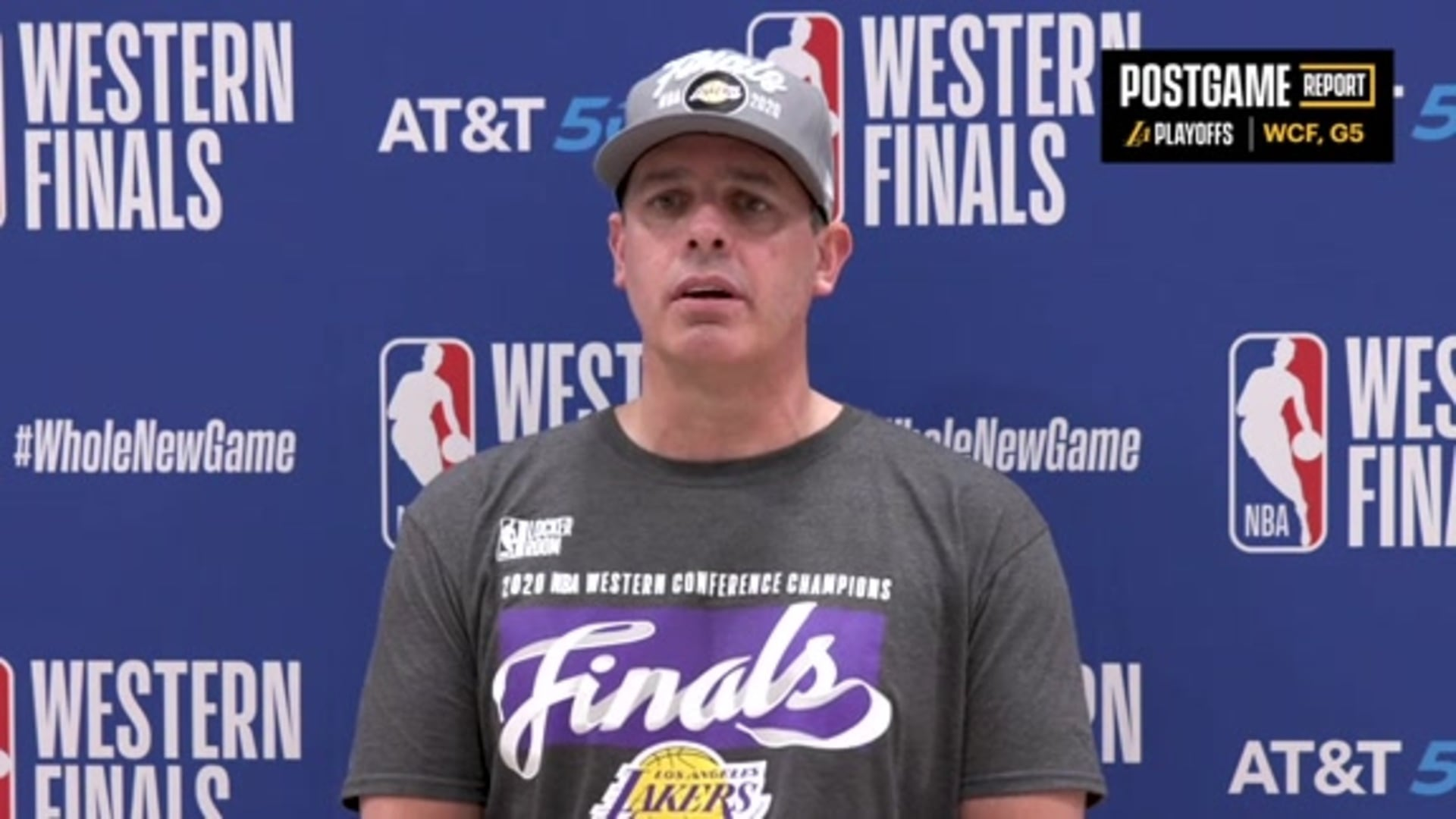 Lakers Postgame: Frank Vogel (9/26/20)