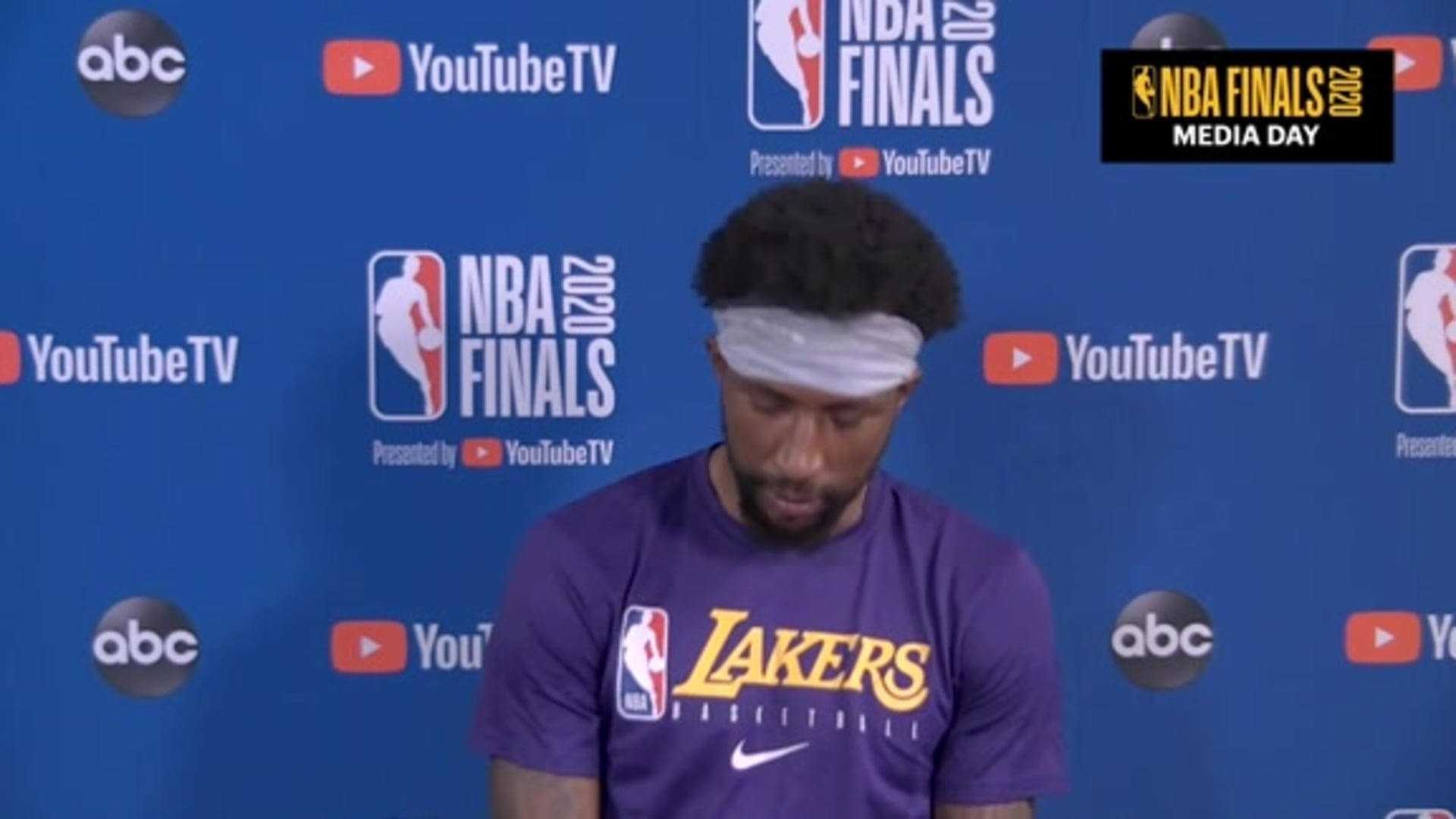 NBA Finals Media Day: Kentavious Caldwell-Pope