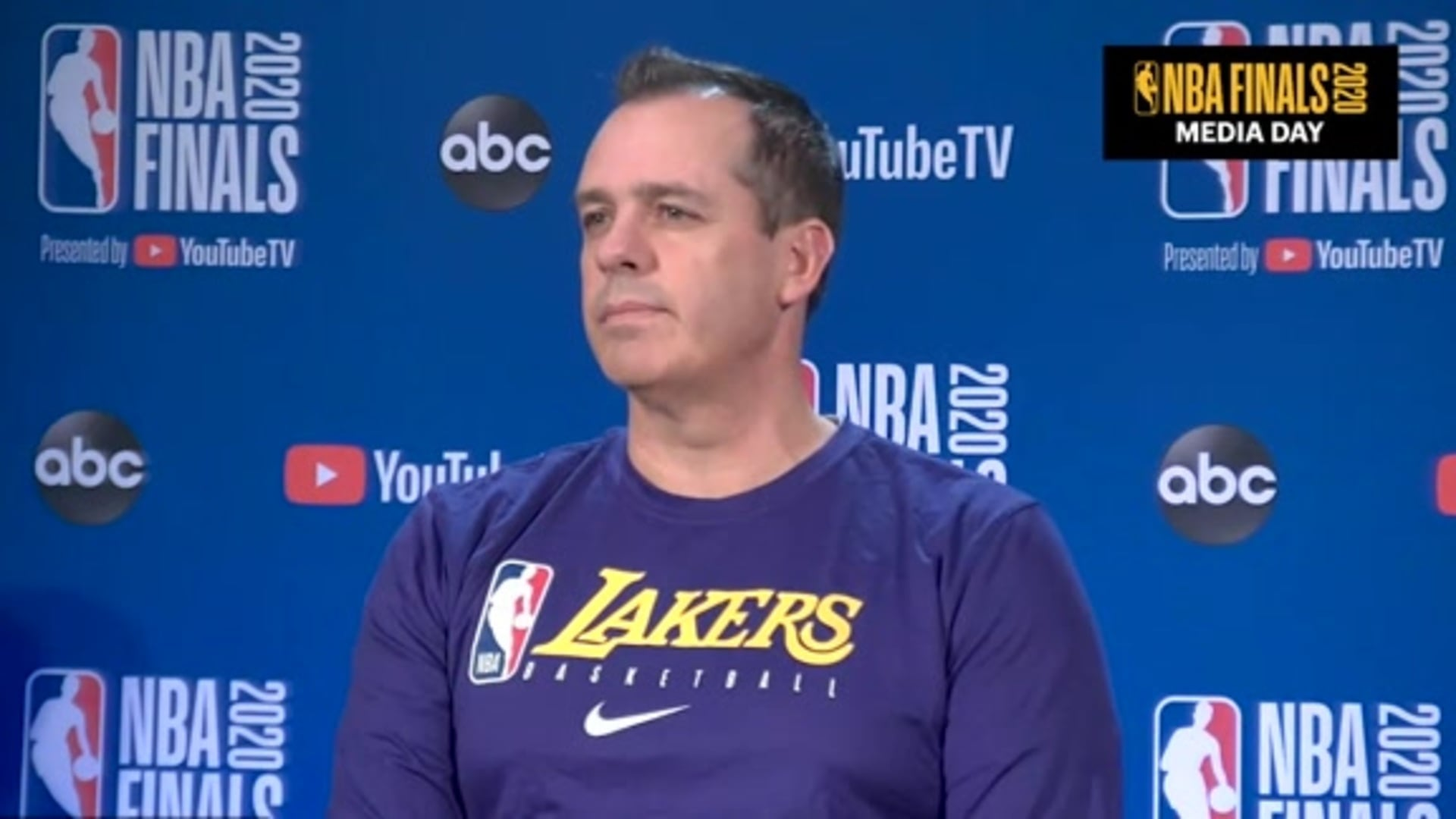 NBA Finals Media Day: Frank Vogel