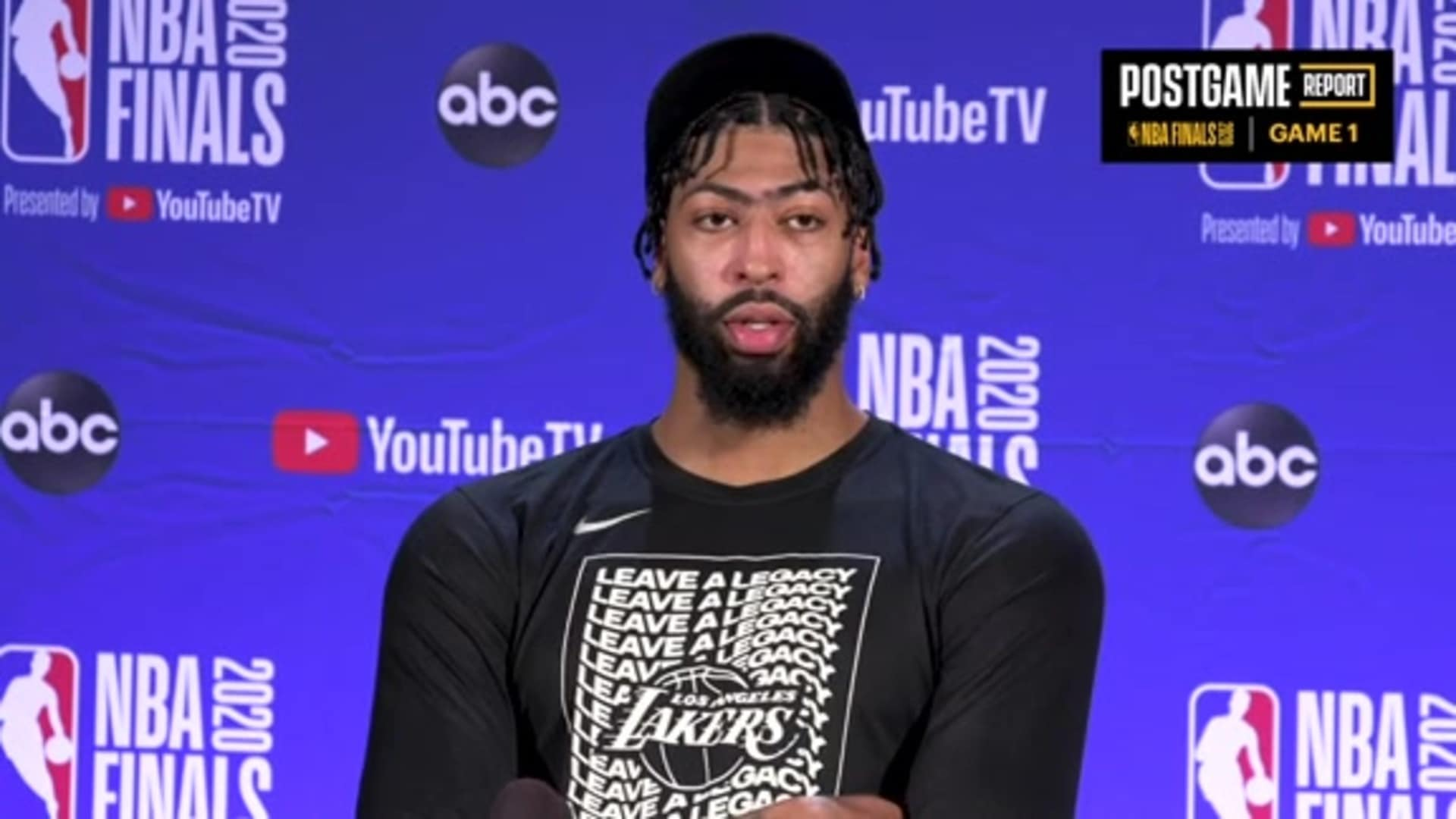 Lakers Postgame: Anthony Davis (9/30/20)