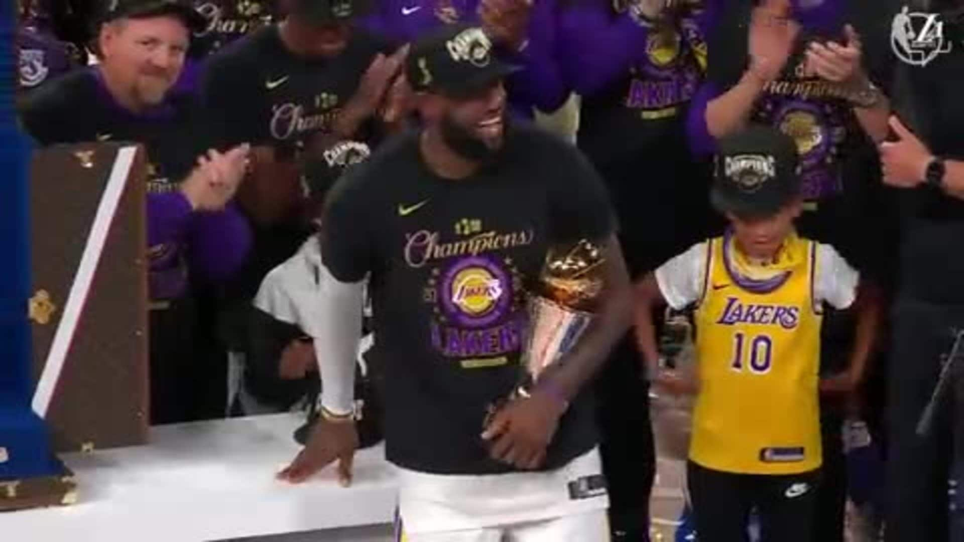 He promised. He delivered. Your NBA Finals MVP: LeBron James