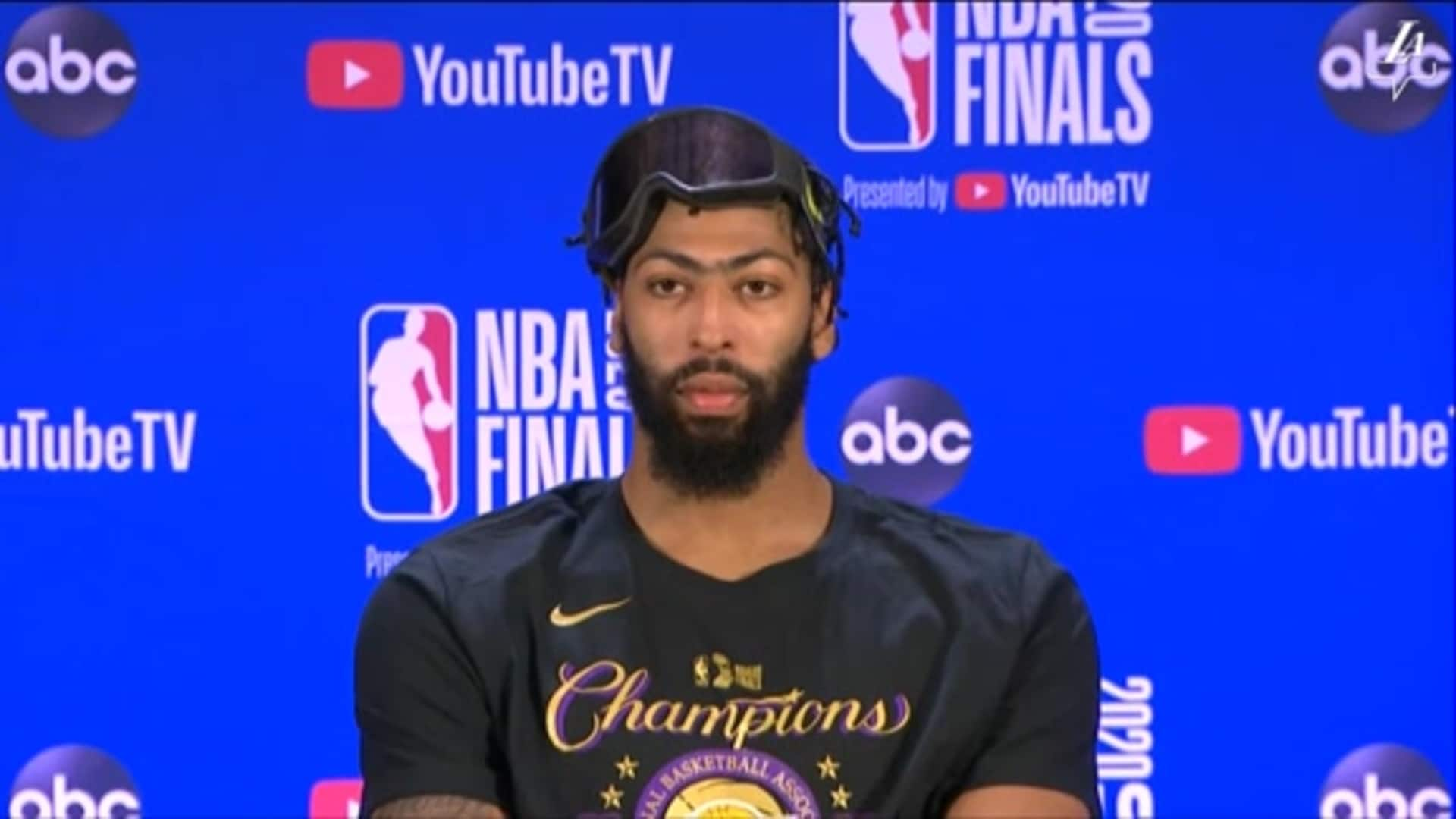 Championship Press Conference: Anthony Davis | Lakers