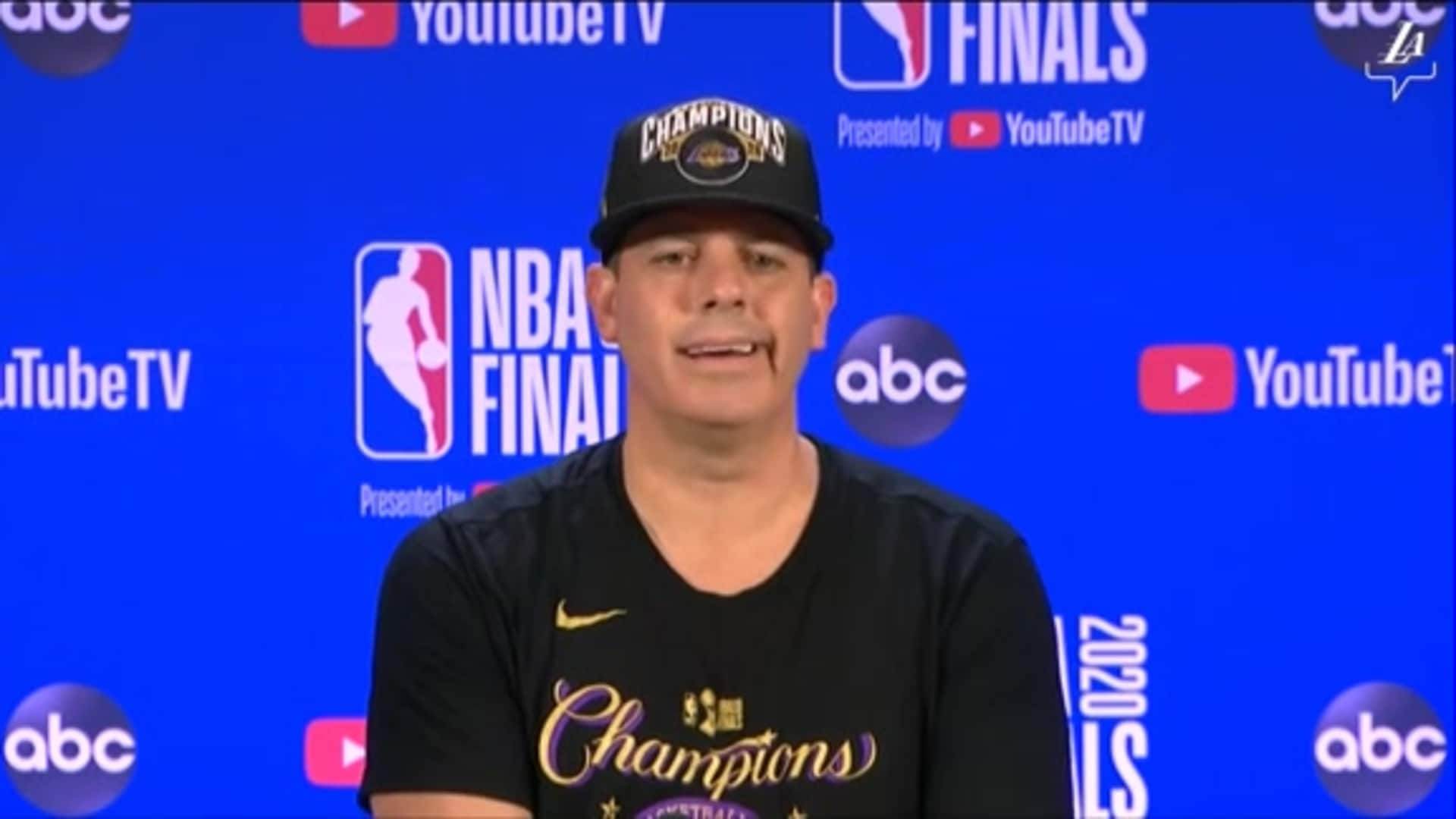 Championship Press Conference: Frank Vogel | Lakers