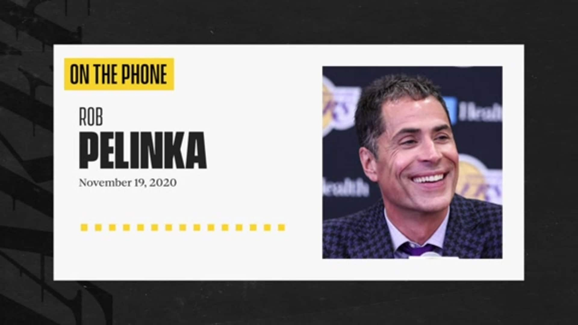 Press Conference: Rob Pelinka (11/19/20)