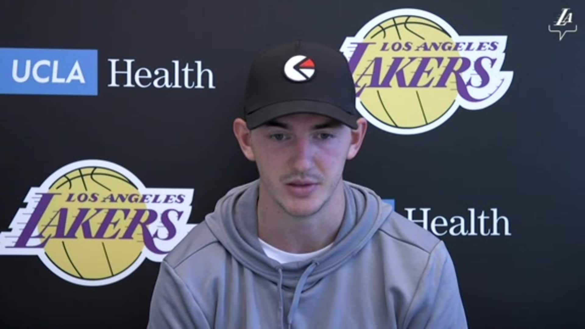 Lakers Workouts: Alex Caruso (12/03/20)