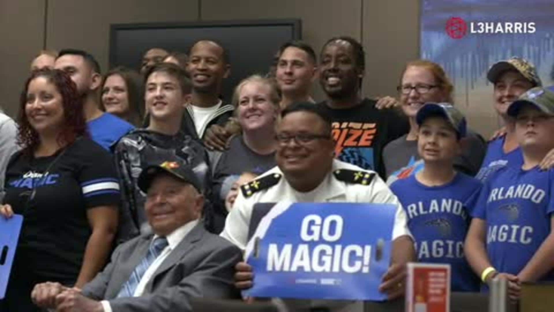 Magic Host Seats for Soldiers Night