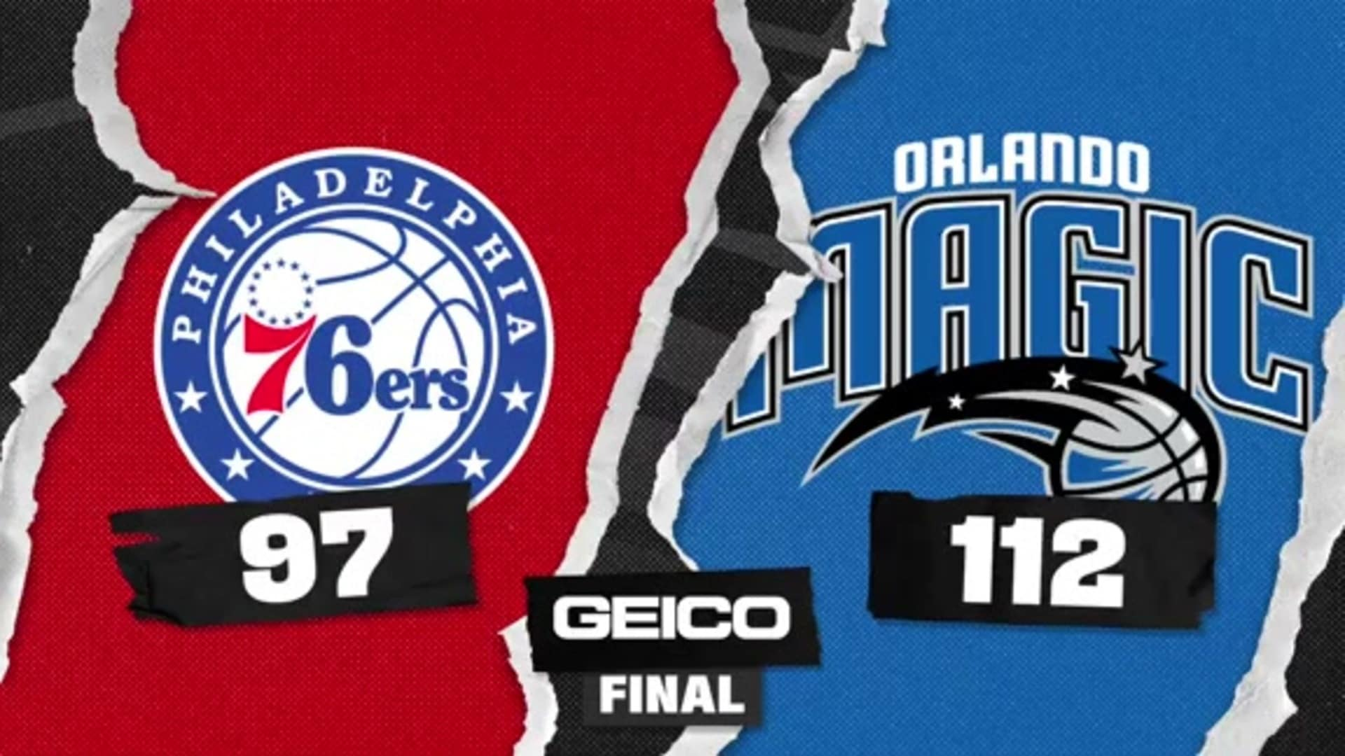 Game Highlights: Magic 112, Sixers 97