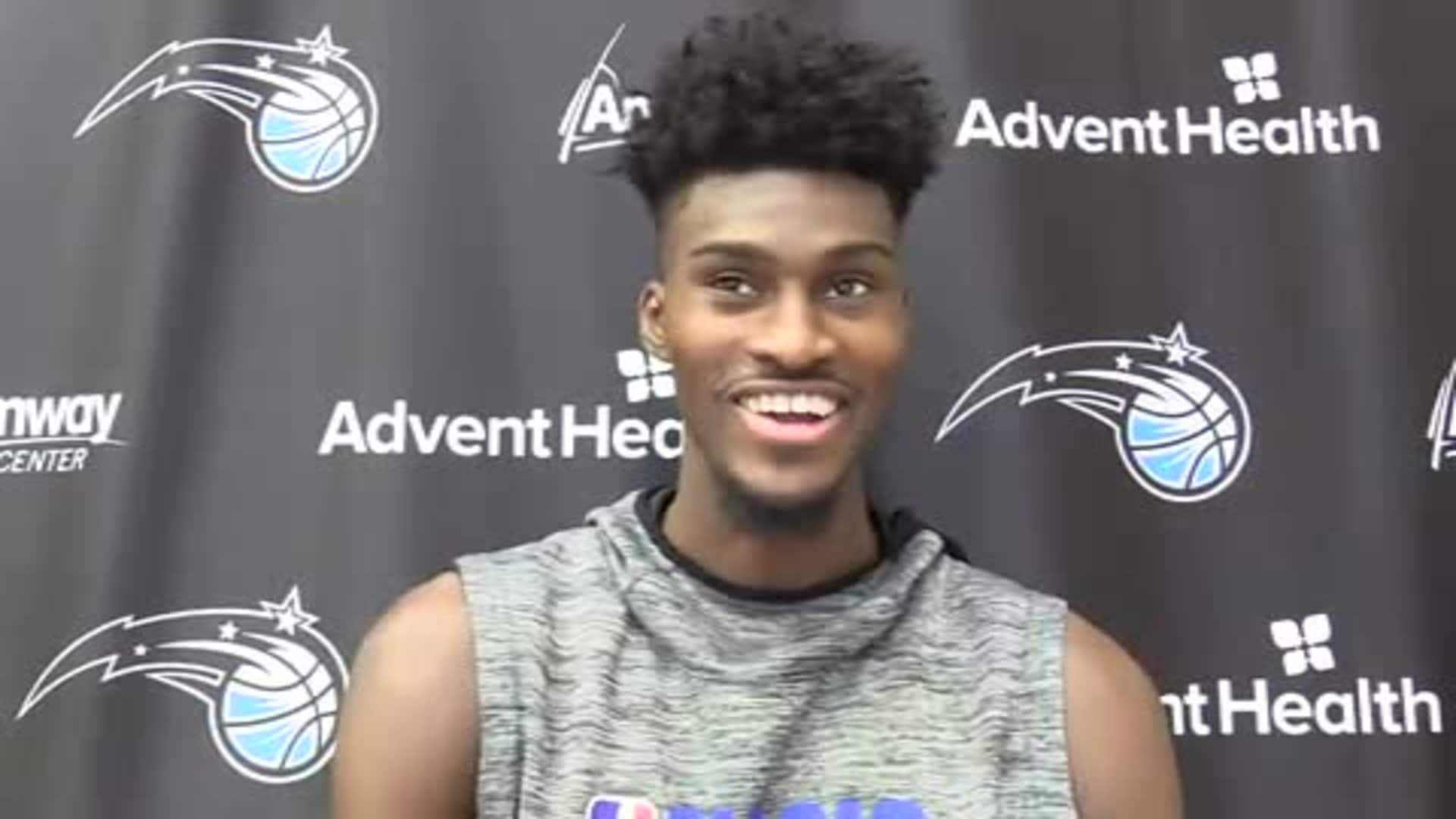 Magic Practice: Jonathan Isaac (11/14)