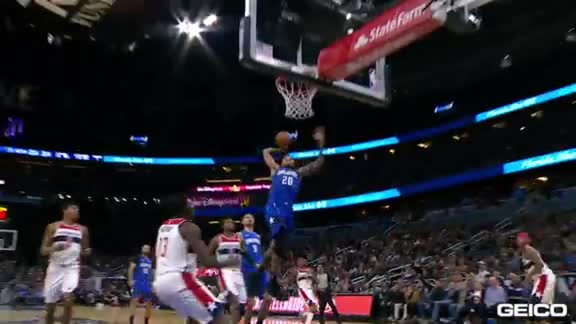 Game Highlights: Magic 125, Wizards 121