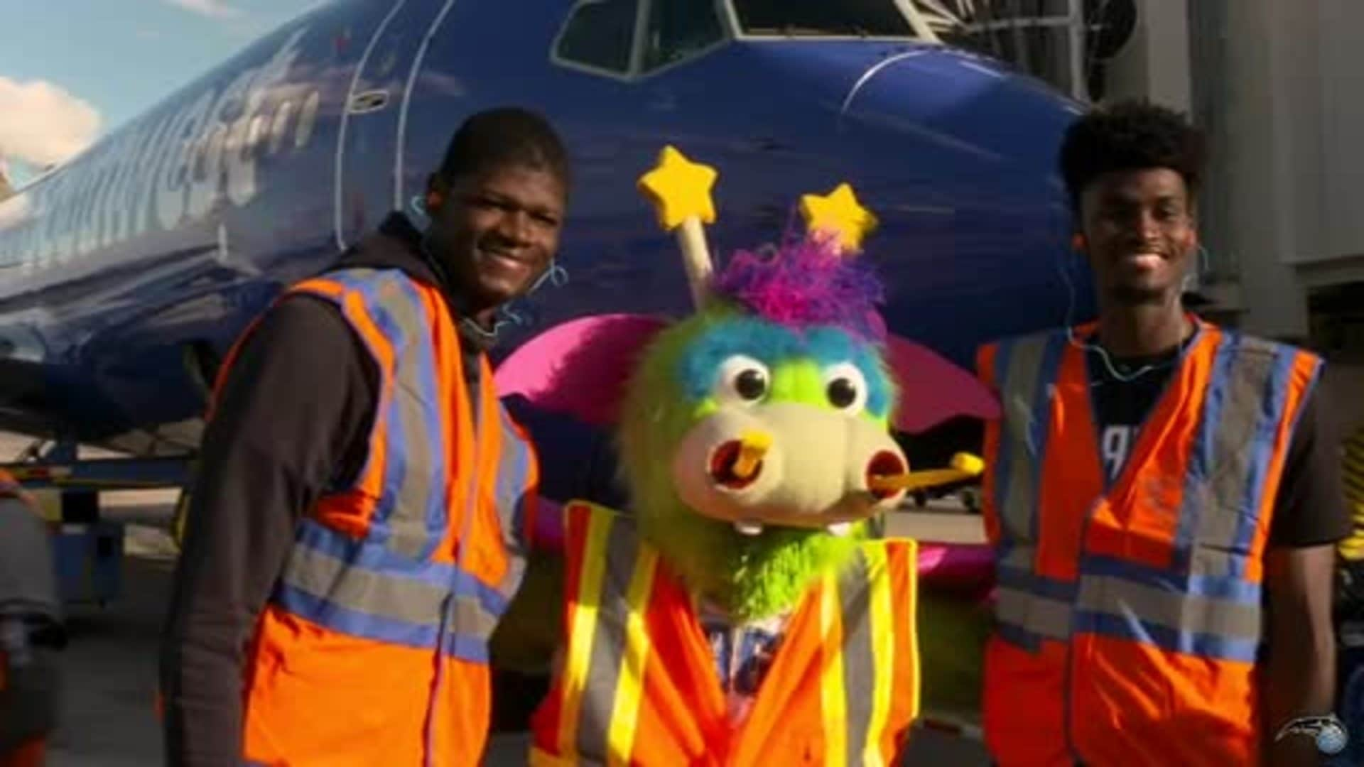 Isaac and Bamba Team Up With Southwest Airlines to Celebrate Partnership