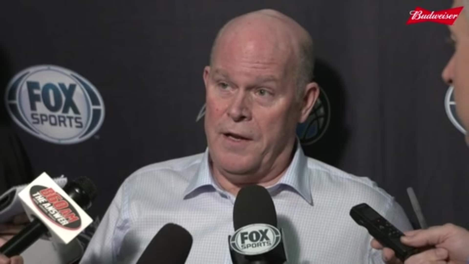 Warriors Postgame: Steve Clifford