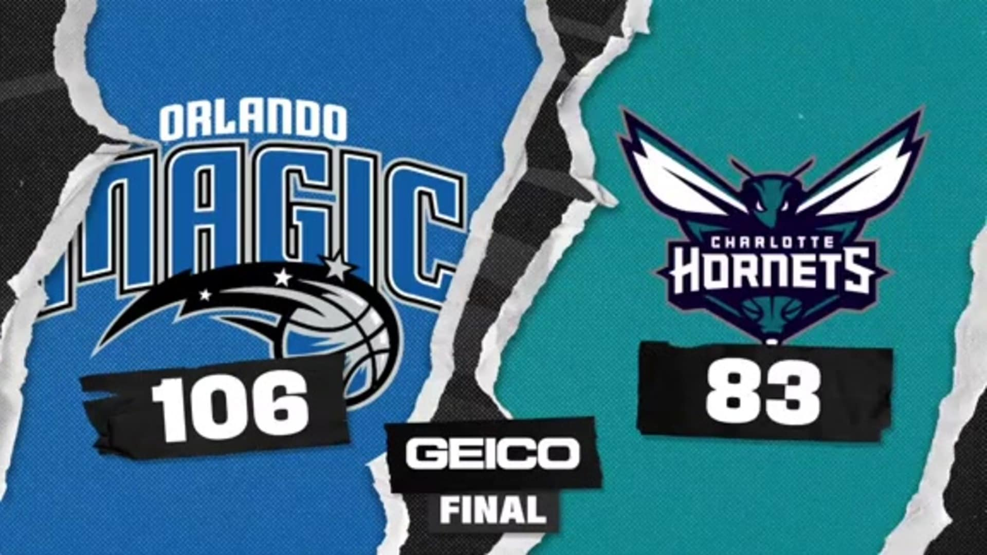 Game Highlights: Magic 106, Hornets 83