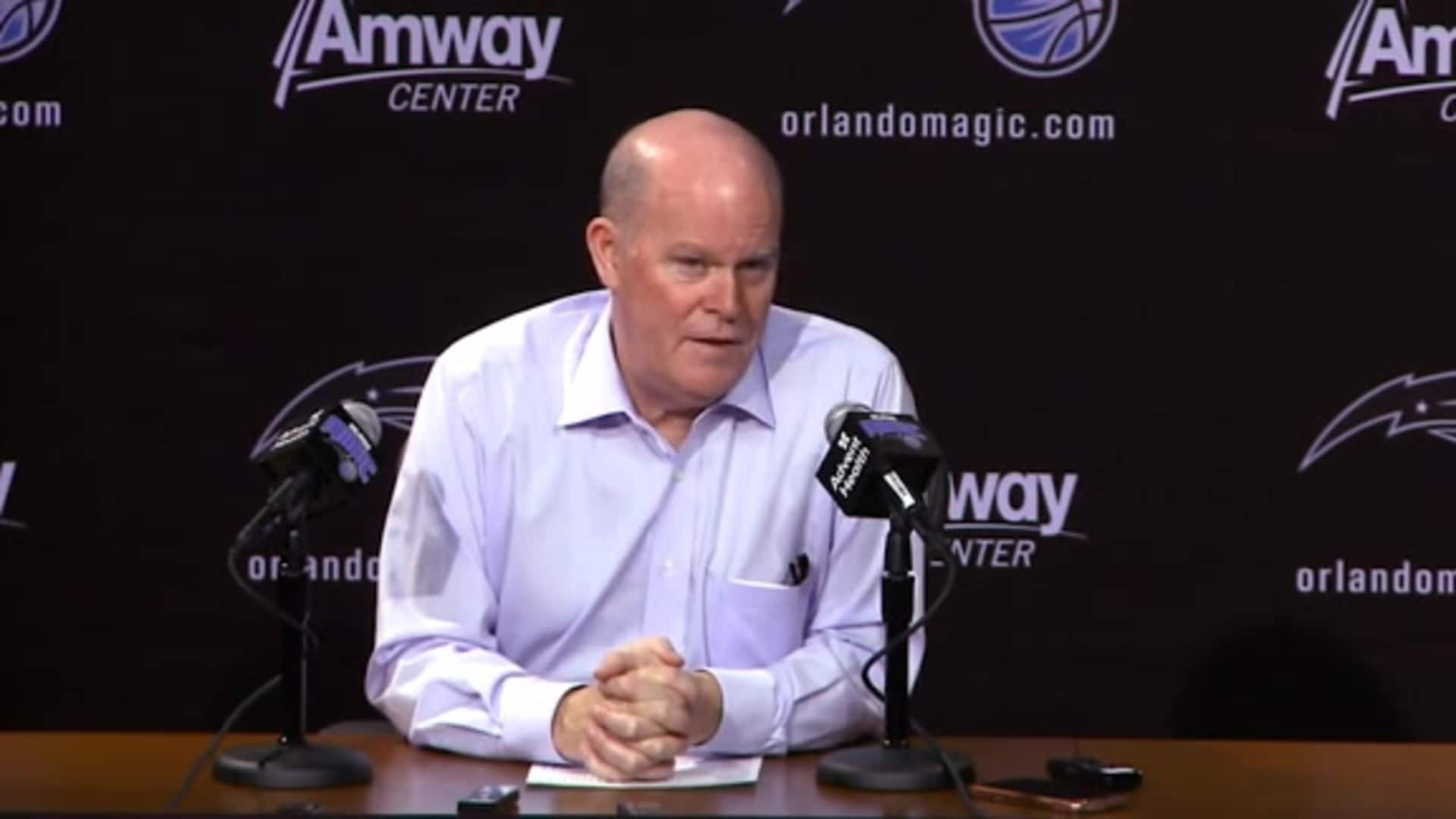 Clippers Postgame: Steve Clifford