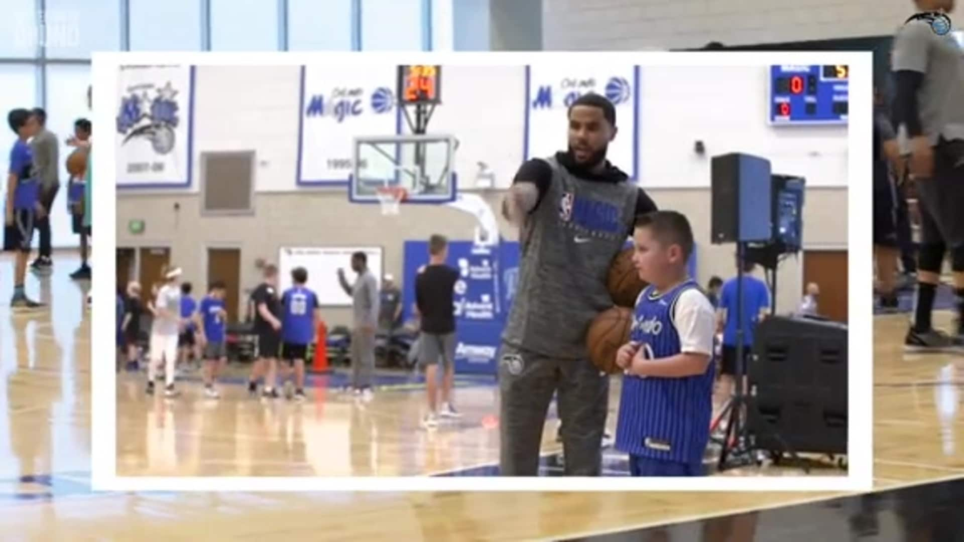 Magic Host Basketball Clinic for Children of Season Ticket Holders