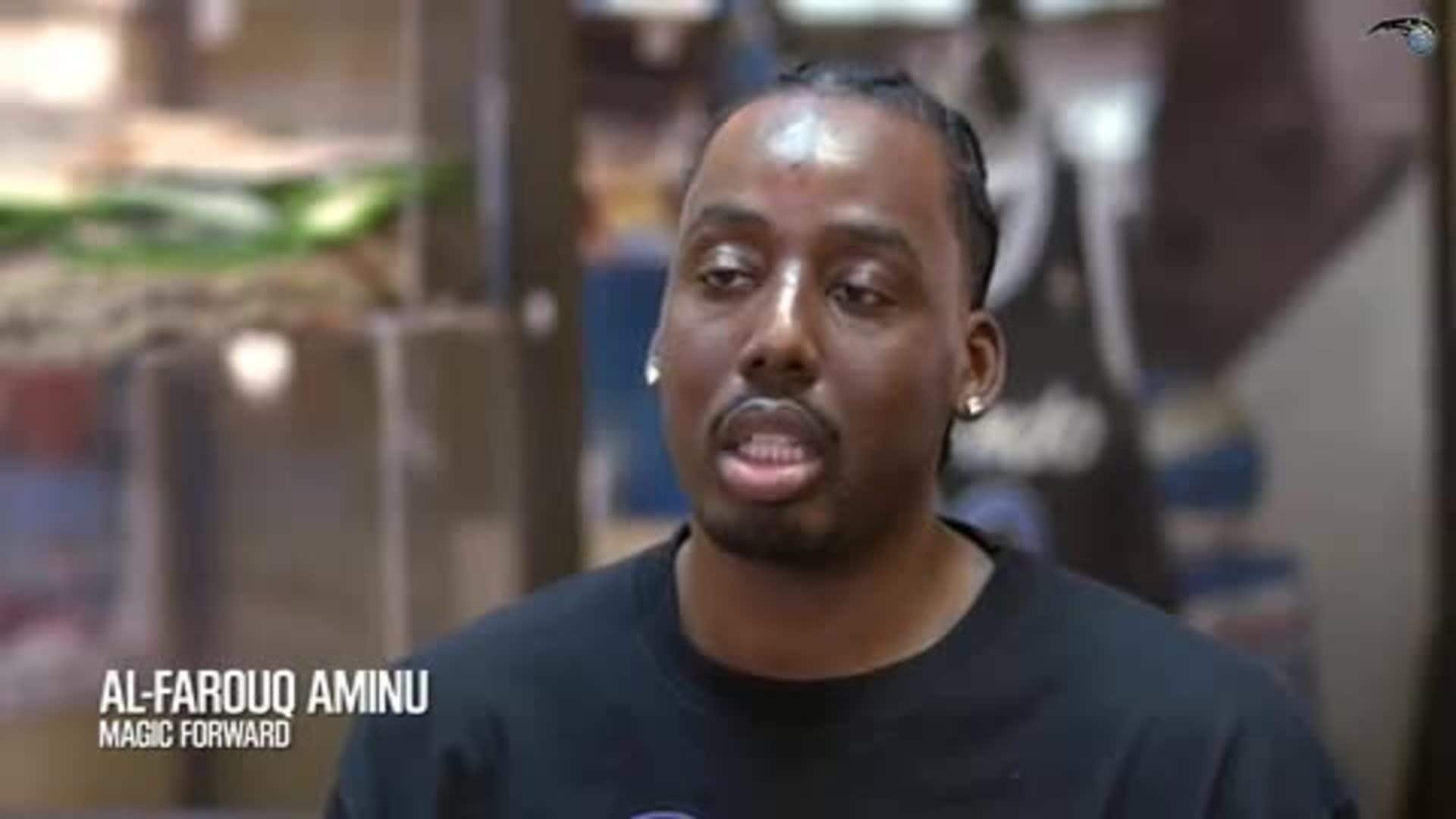 Aminu Joins Local Youth on an Educational Experience and Tour of Historic Parramore Community