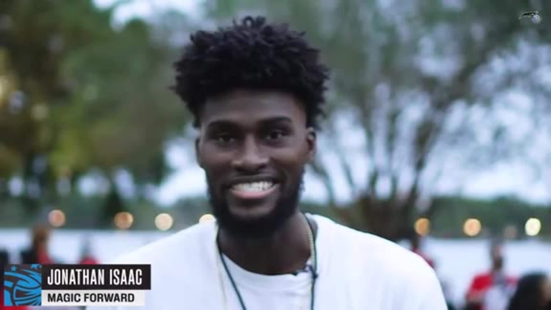 Jonathan Isaac's Hold Up the Lights Walk