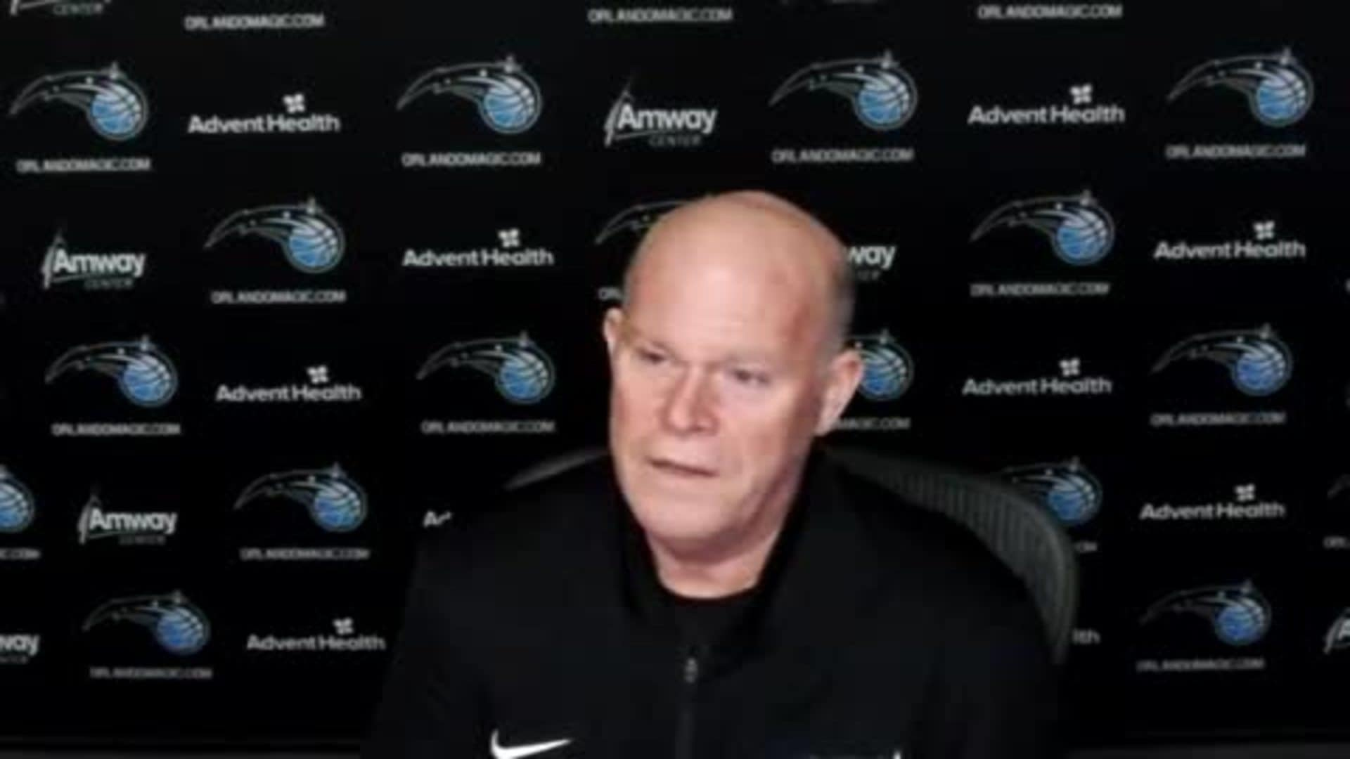 Training Camp: Steve Clifford (12/1)