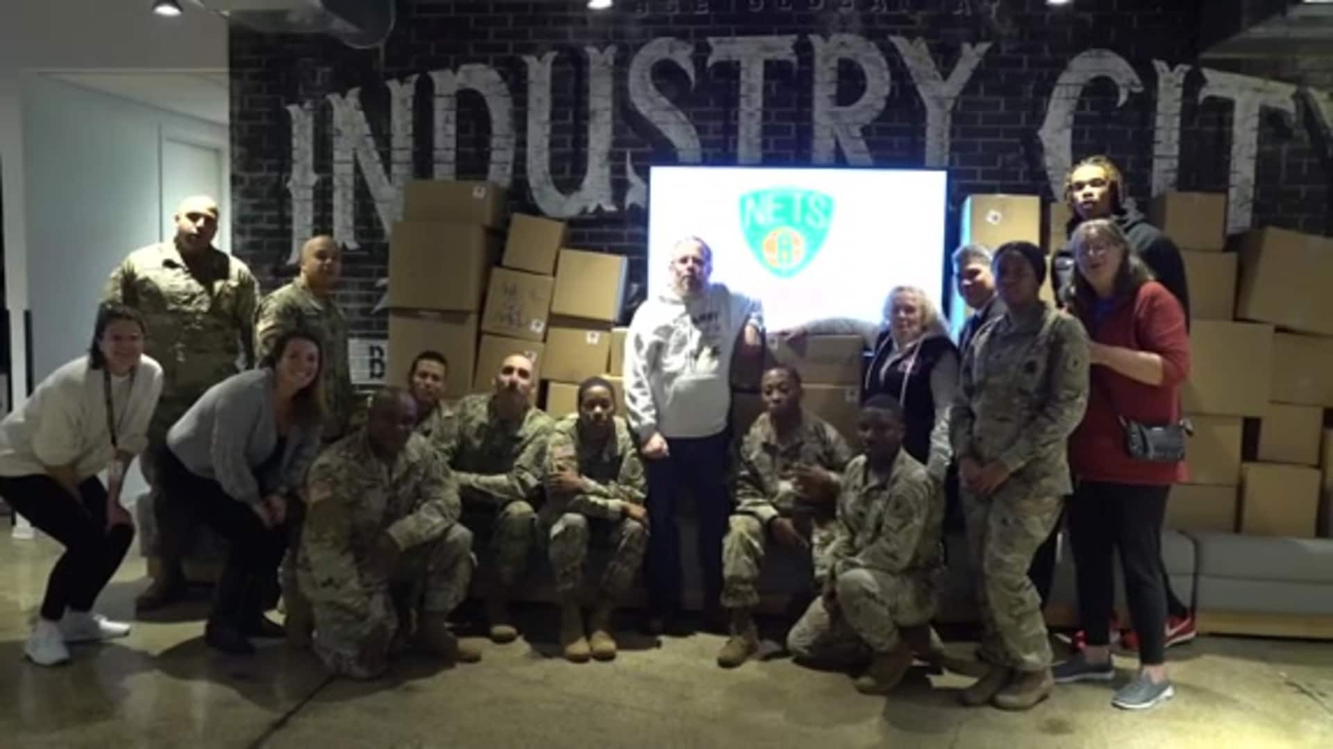 Hoops for Troops: Military Care Packages