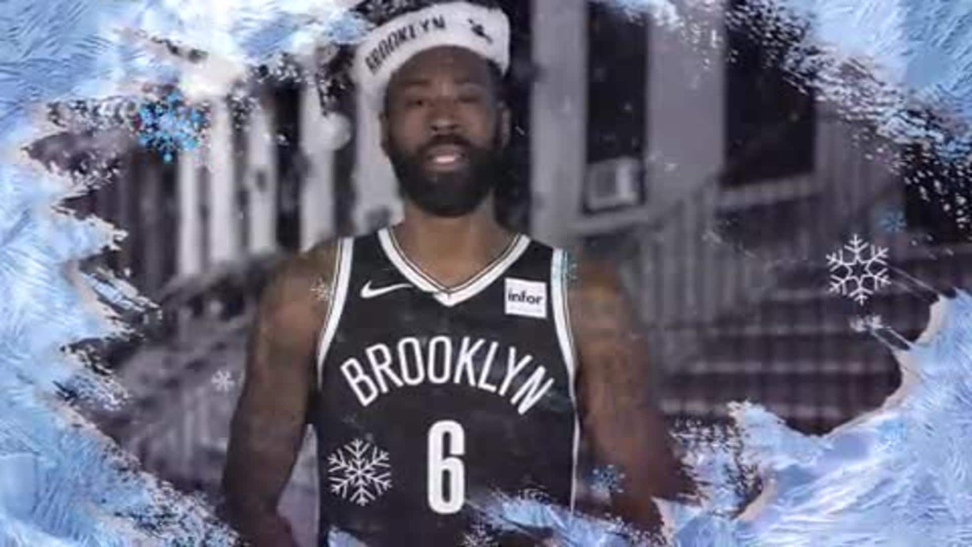 Happy Holidays from the Brooklyn Nets