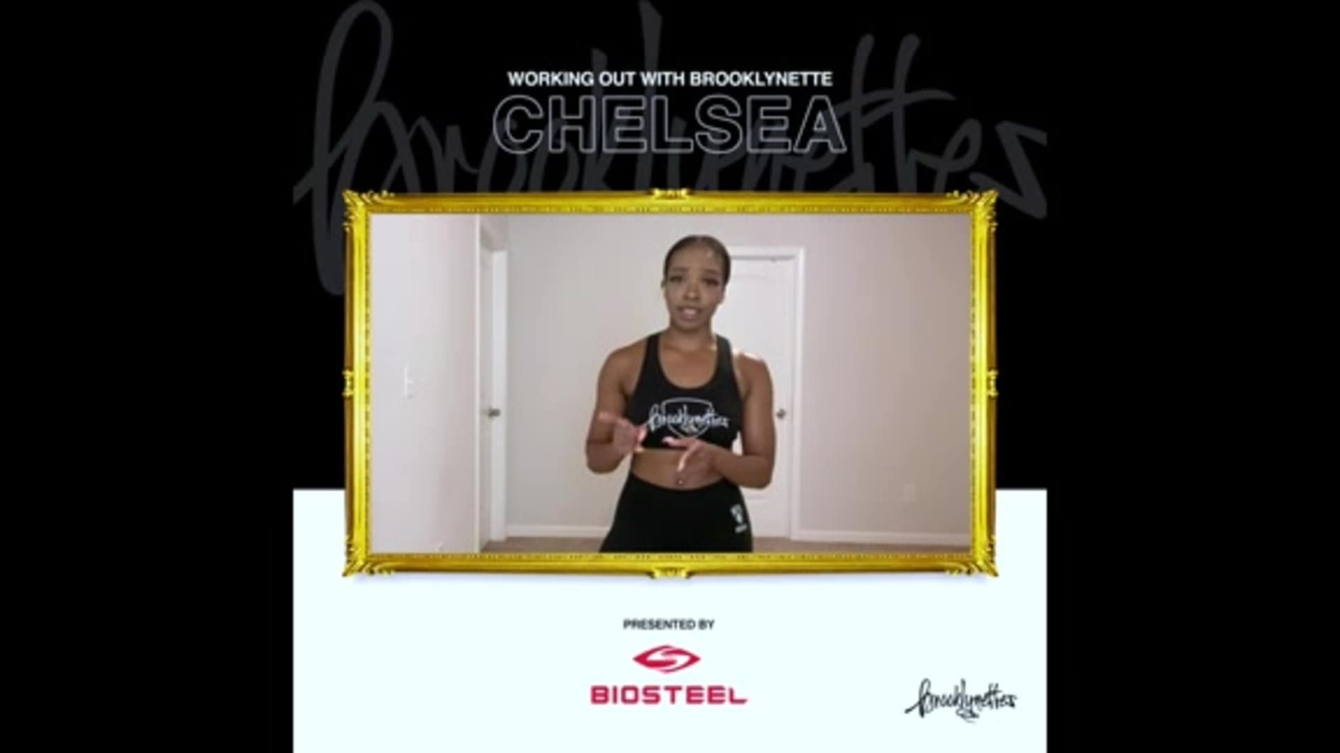 Working Out with the Brooklynette presented by Biosteele
