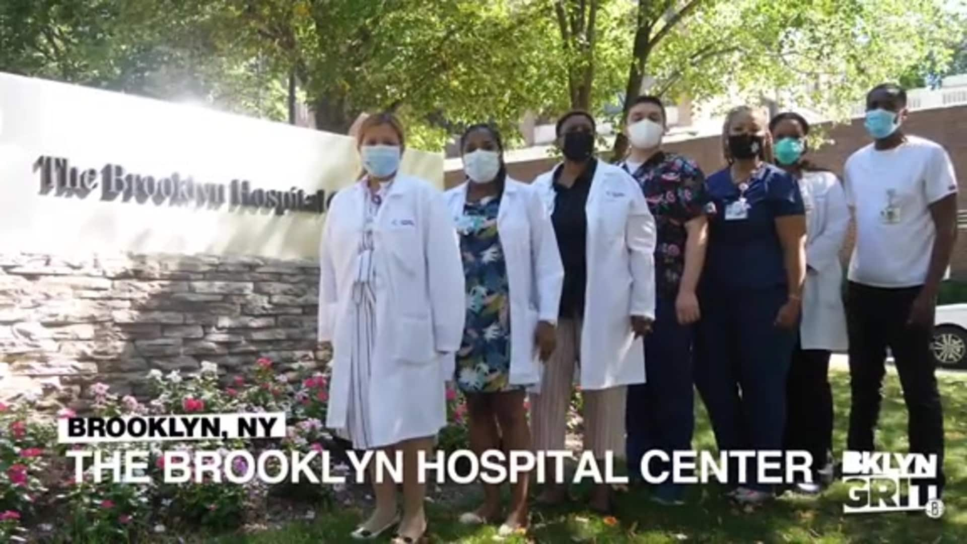Starting Five featuring Brooklyn's COVID Community Heroes