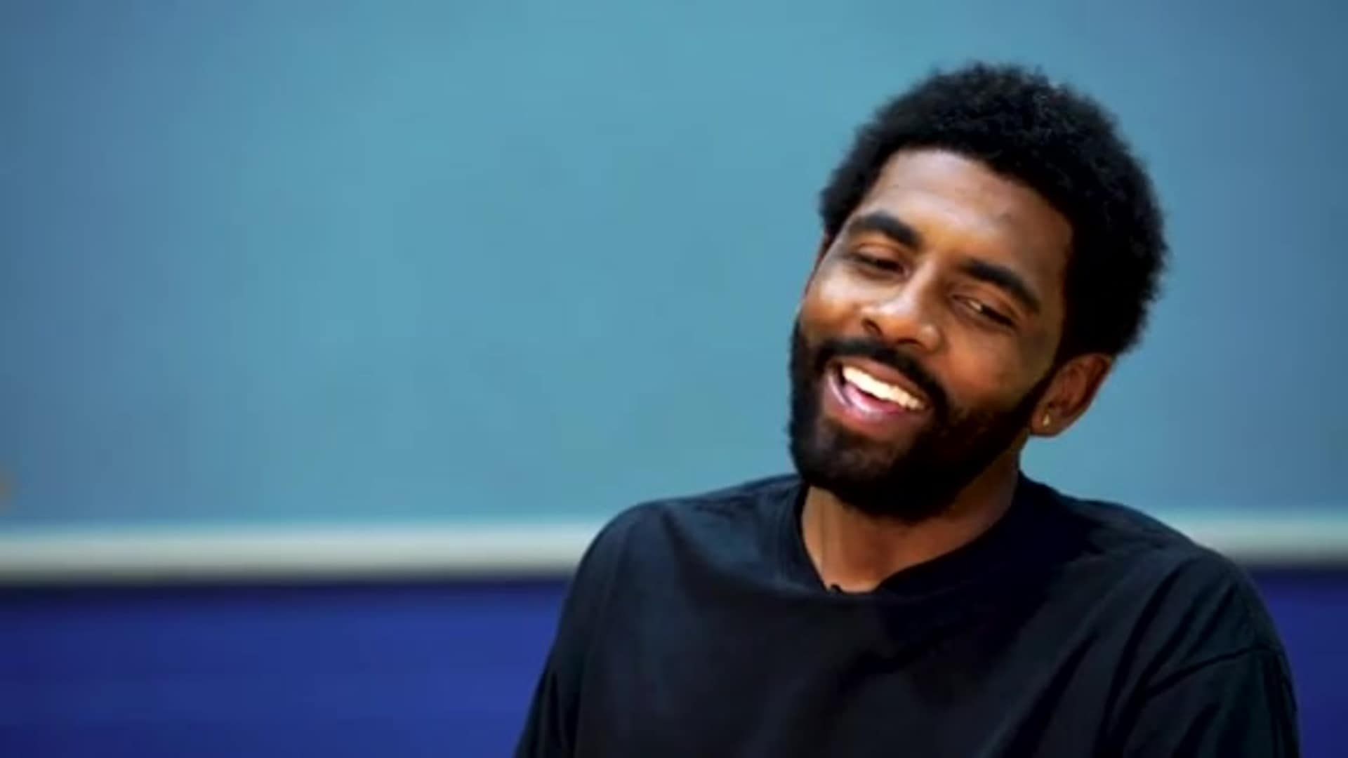 Kyrie Irving Reflects Back