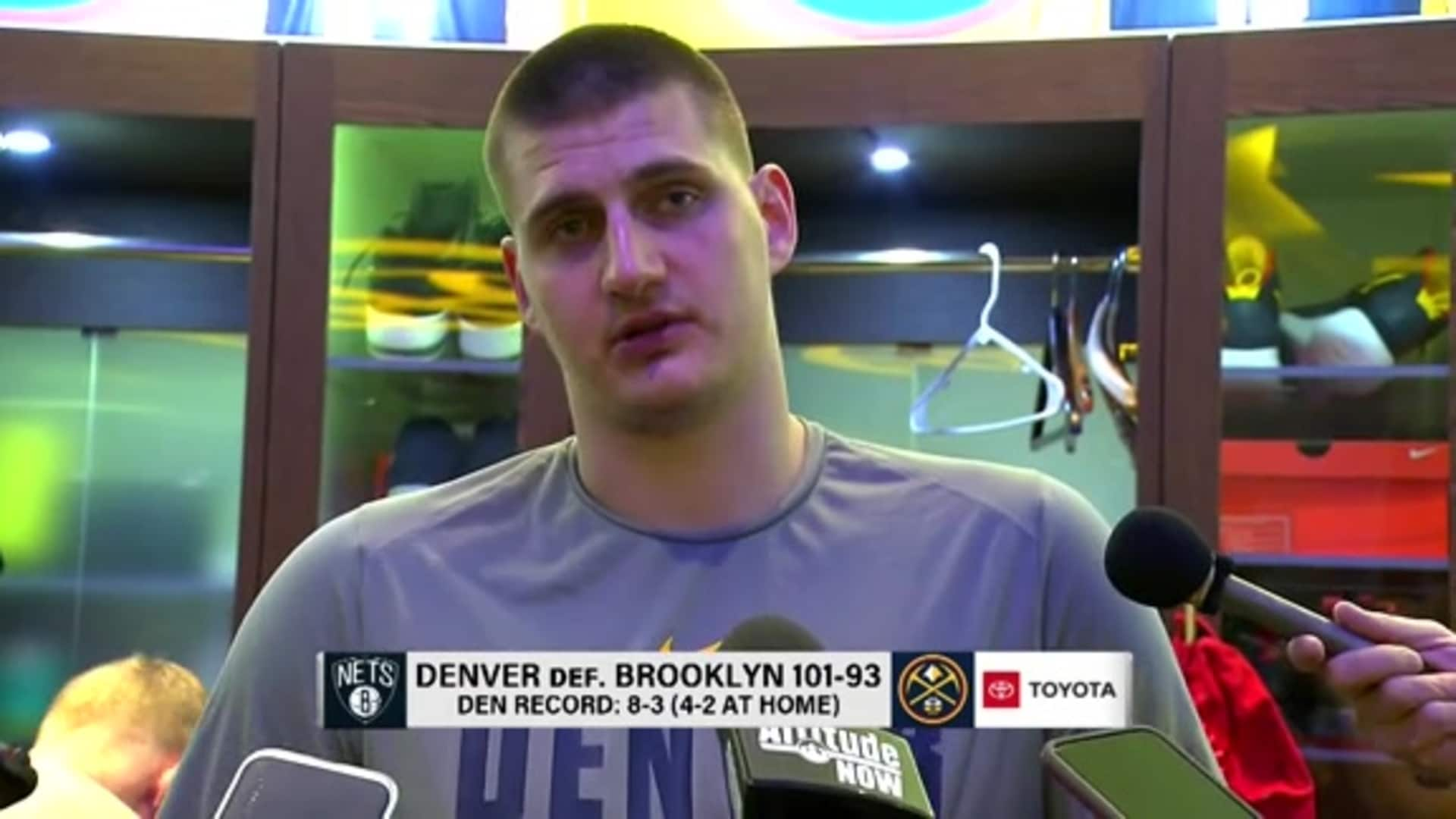 Nuggets vs. Nets: Nikola Jokić postgame interview