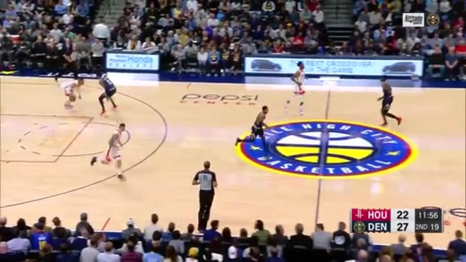 Nuggets' top defensive plays against Rockets