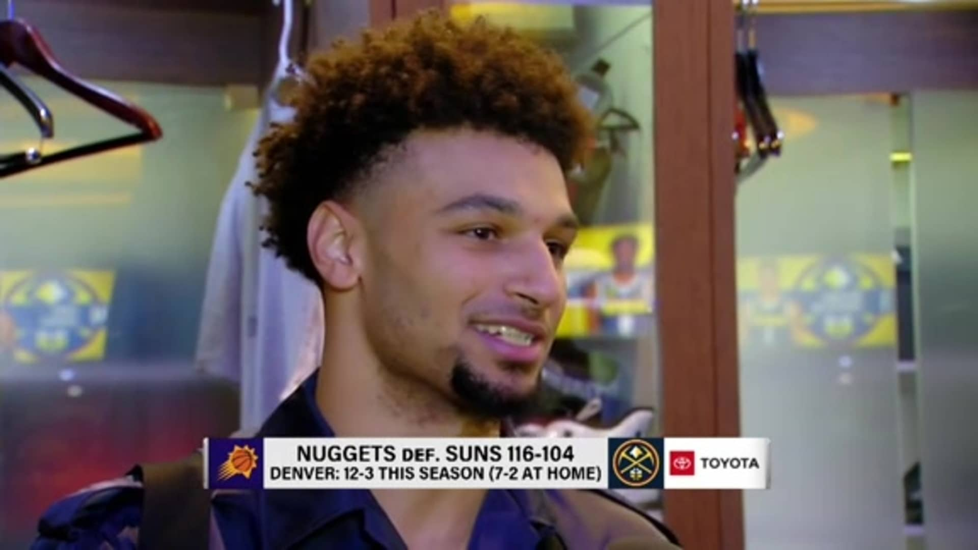 Nuggets vs. Suns: Jamal Murray postgame interview