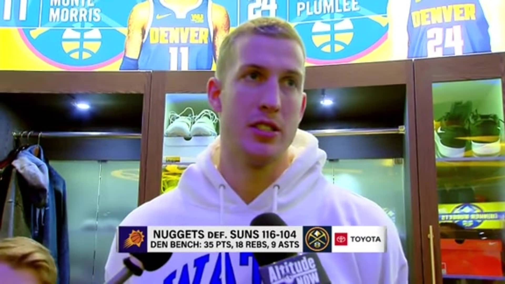 Nuggets vs. Suns: Mason Plumlee postgame interview
