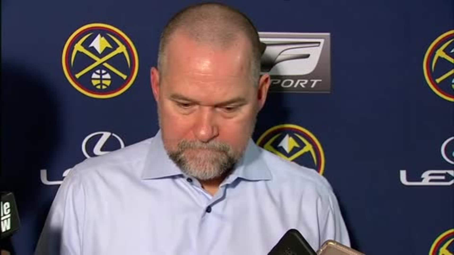 Nuggets vs. Kings: Michael Malone postgame interview