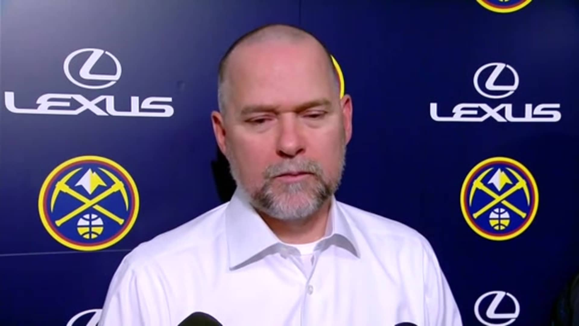 Coach Malone after Lakers loss: We just didn't make shots