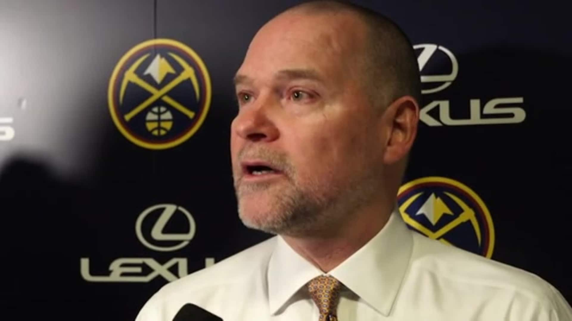 Nuggets vs. Trail Blazers: Michael Malone postgame interview