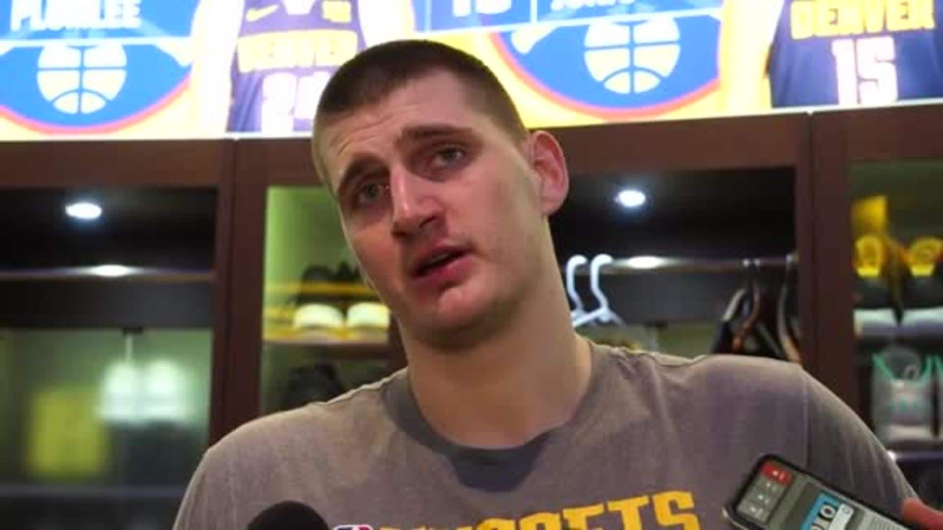 Nikola Jokić on win vs. Blazers: Good to win at home